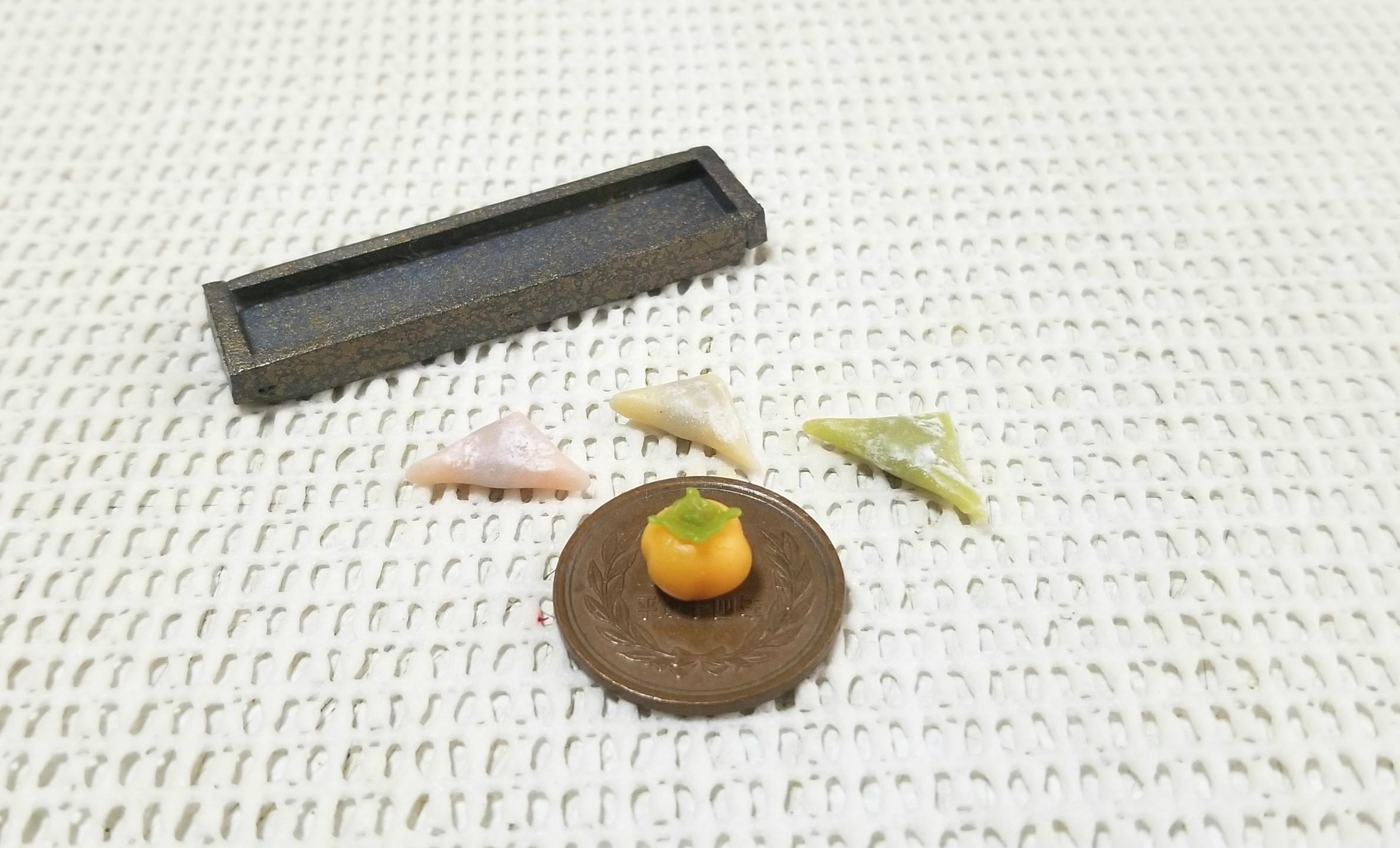 ミニチュアフード,和菓子,ミンネにて販売中,樹脂粘土,食品サンプル
