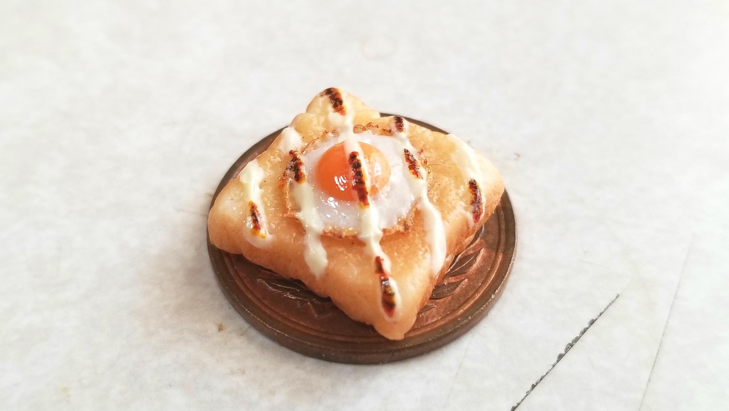 ミニチュアマヨネーズラピュタパン,樹脂粘土,ミンネ人気商品販売中