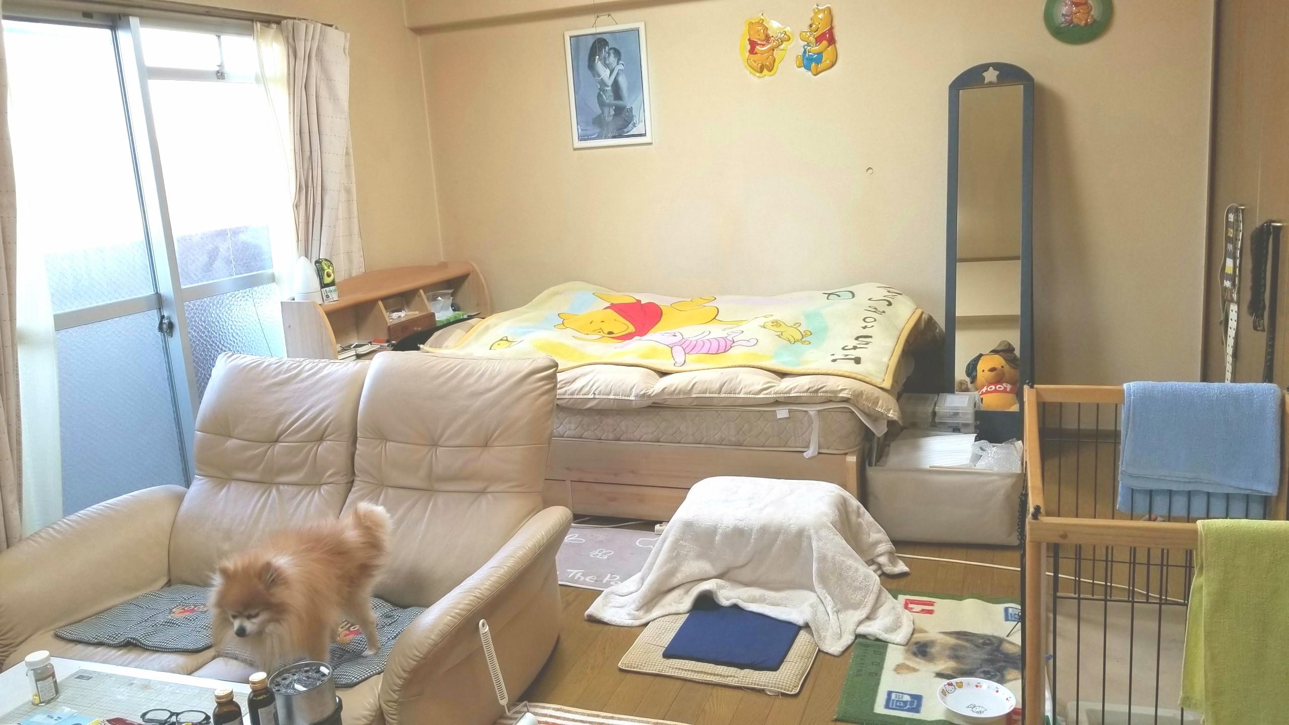 部屋レイアウト,大掃除,寝具,配置広さ,綺麗にする,いい匂い,女の子