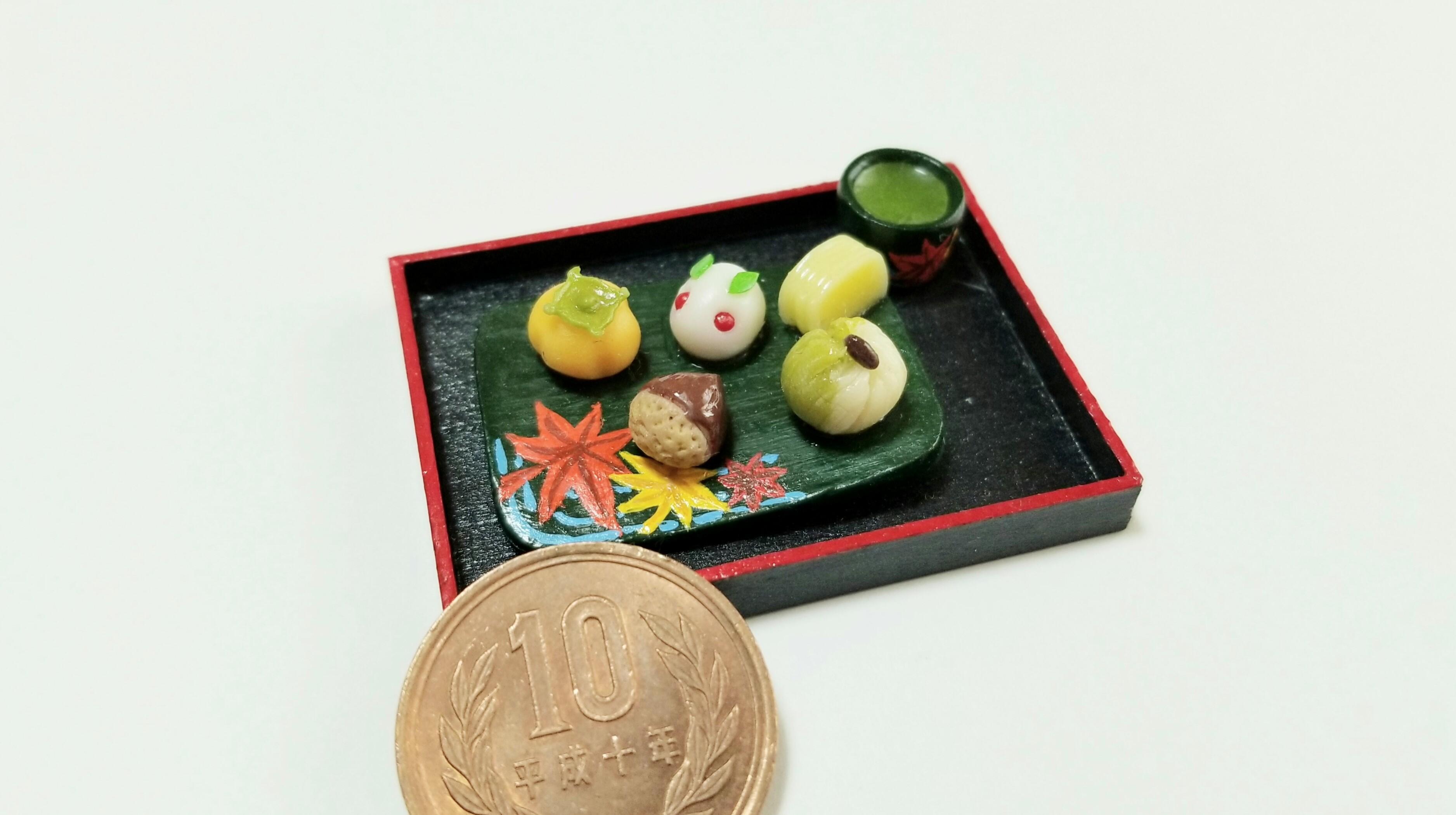 甘味処和菓子屋よもぎのミニチュアフードフェイク和スイーツ人気