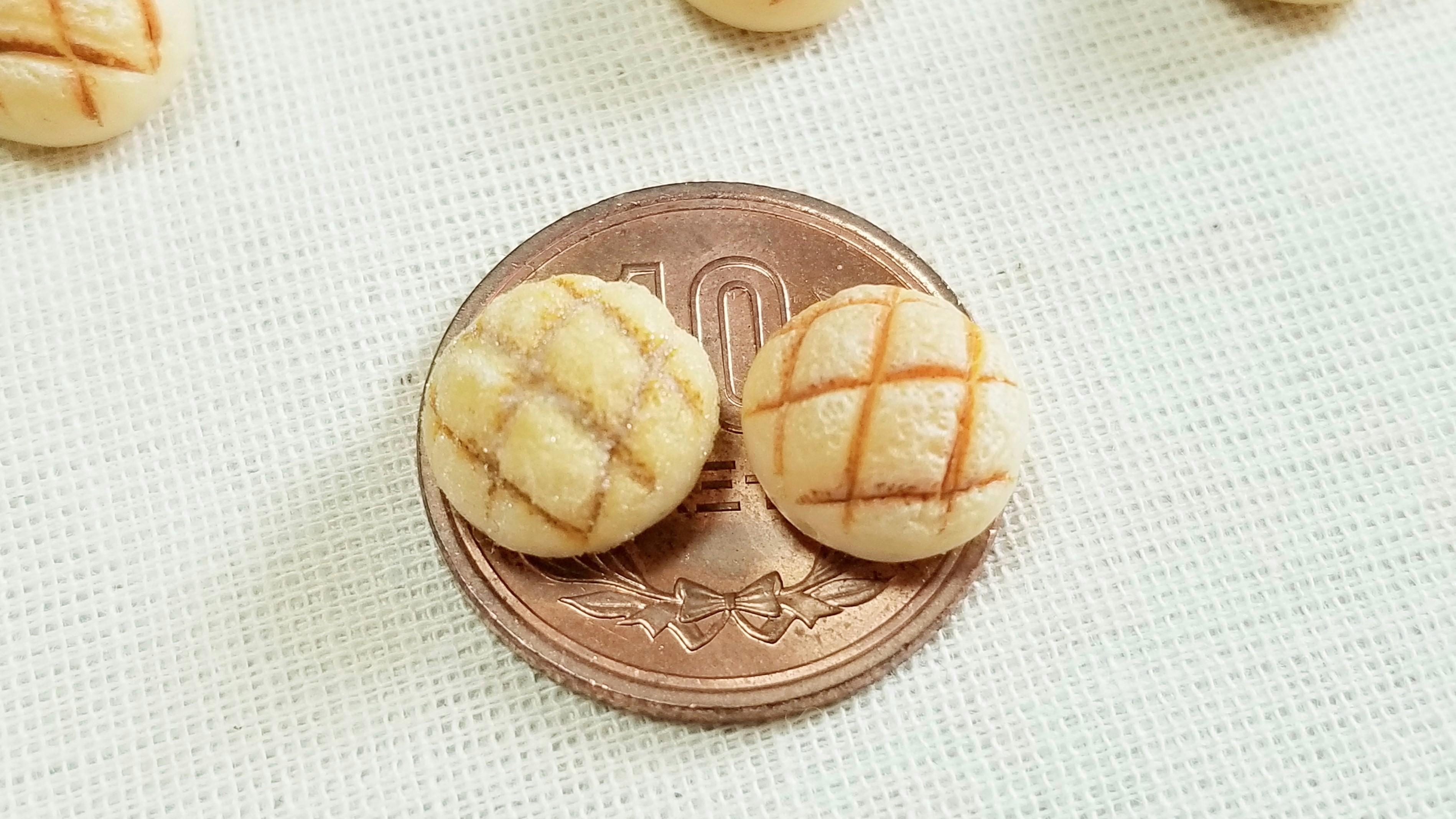 小さない可愛いメロンパンおいしいよおすすめ小物手作りアレンジ