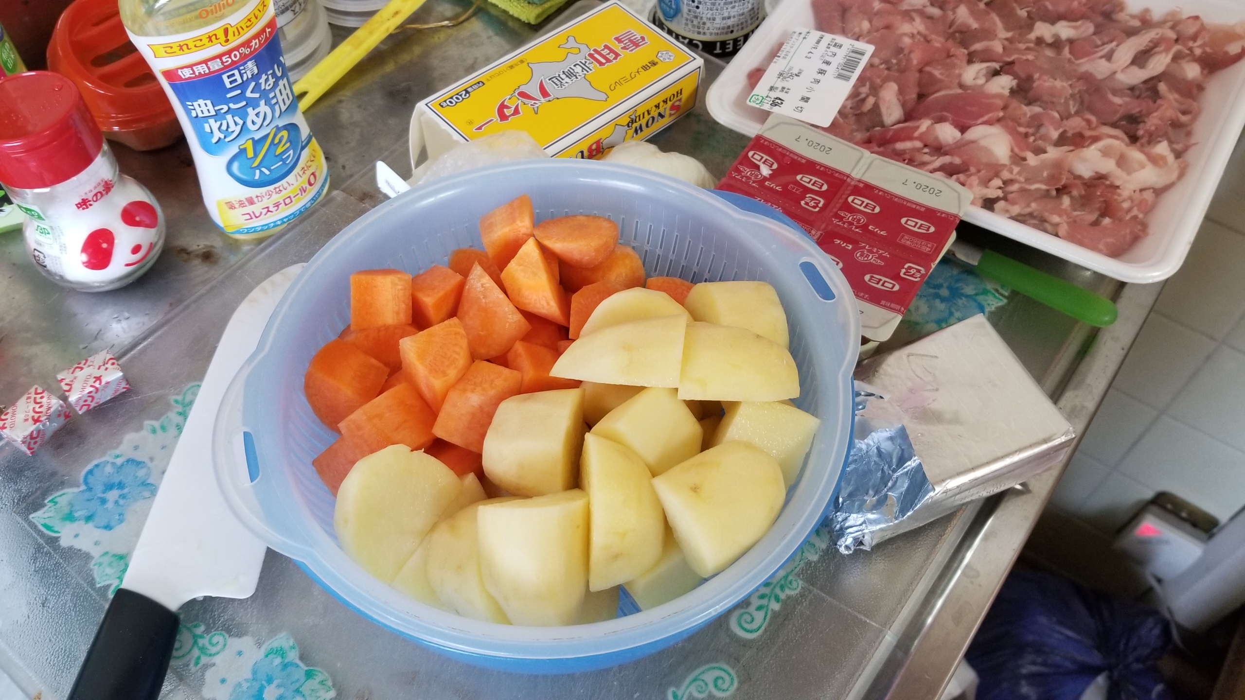 おいしい手作りカレー豚肉線維筋痛症の生活日常隠し味簡単料理コツ
