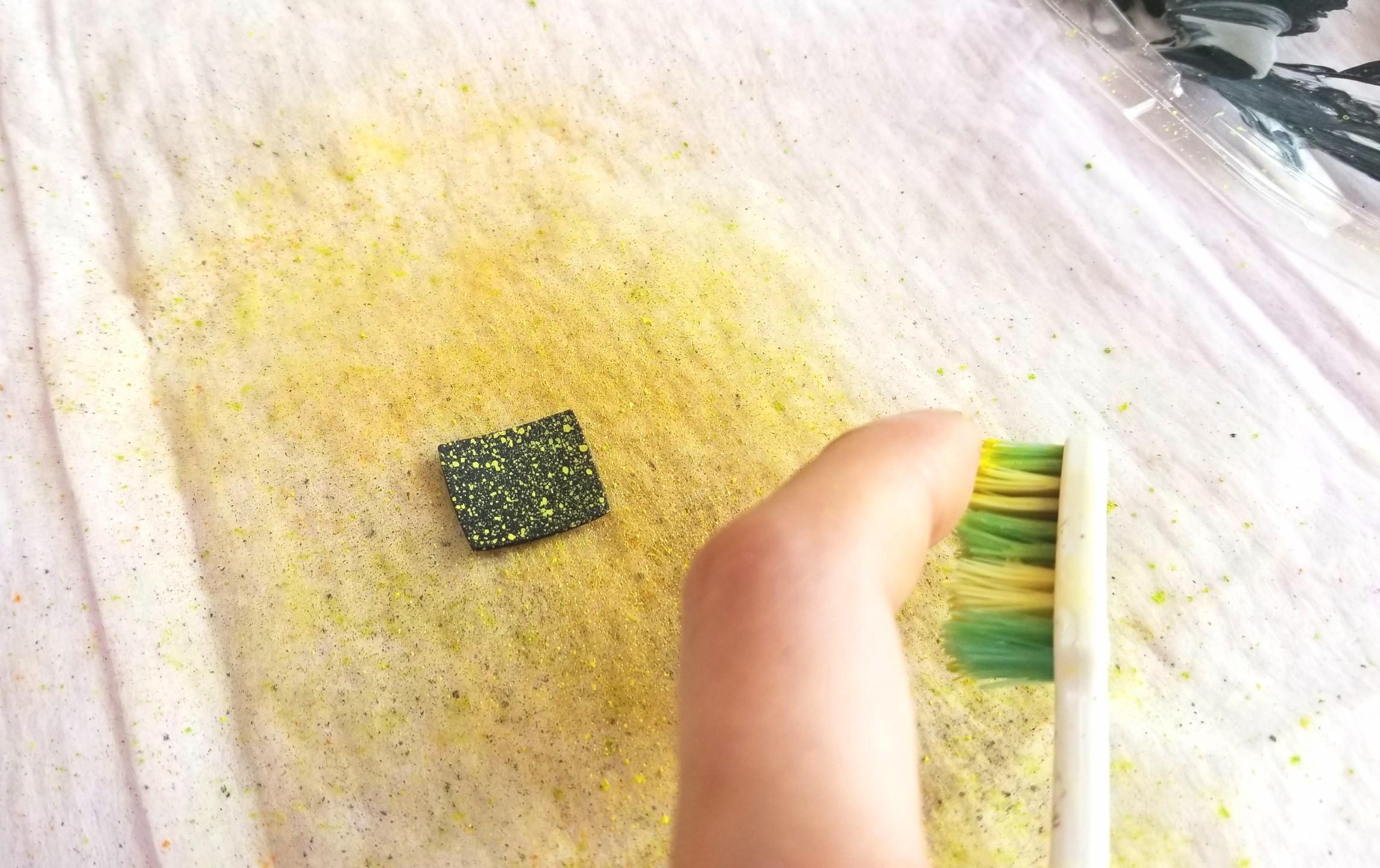 ミニチュアフード,お皿,和食器,着色,作り方,石粉,石塑,樹脂,粘土