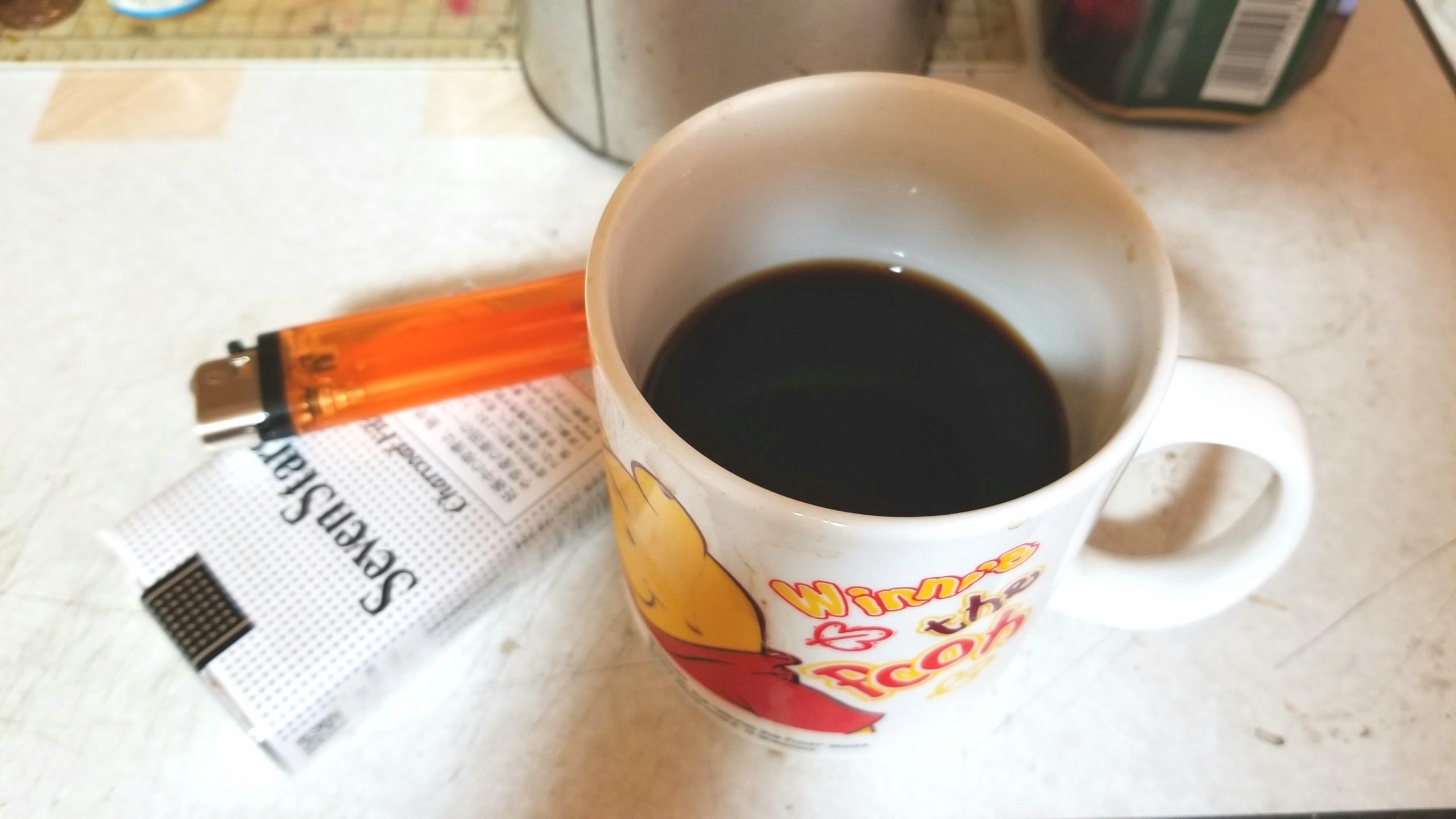 朝は珈琲とタバコ,モーニングコーヒー,たばこの値上がり反対,喫煙者