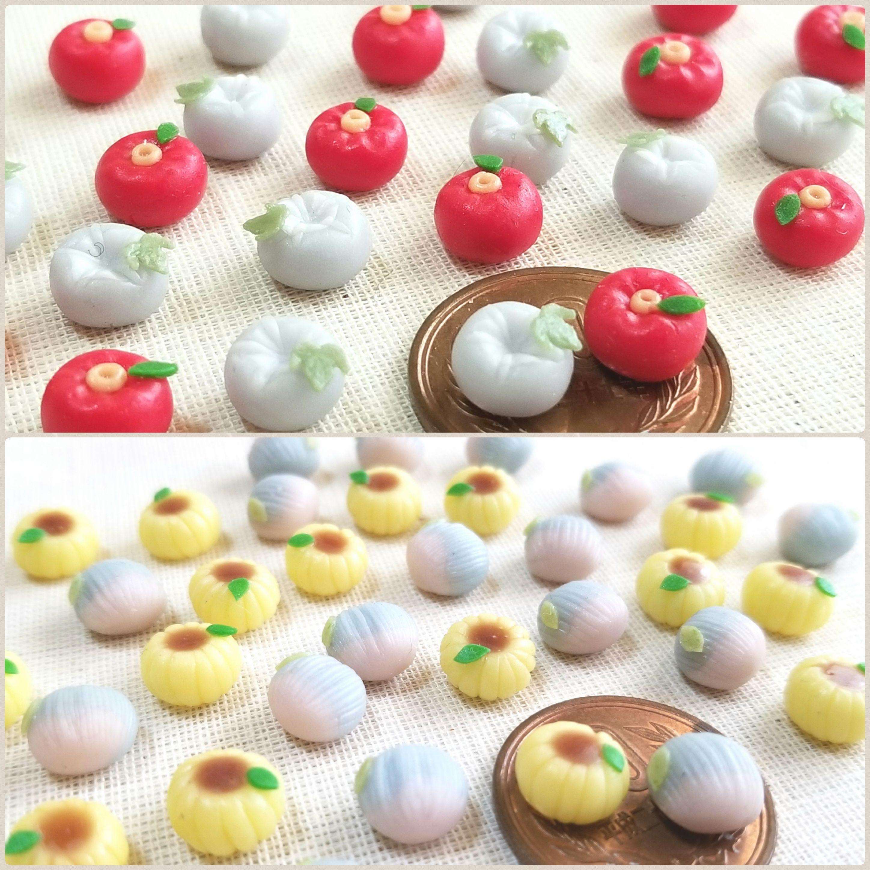 和菓子好き,生菓子,大好物,美味しそう,粘土細工,ミニチュア,可愛い