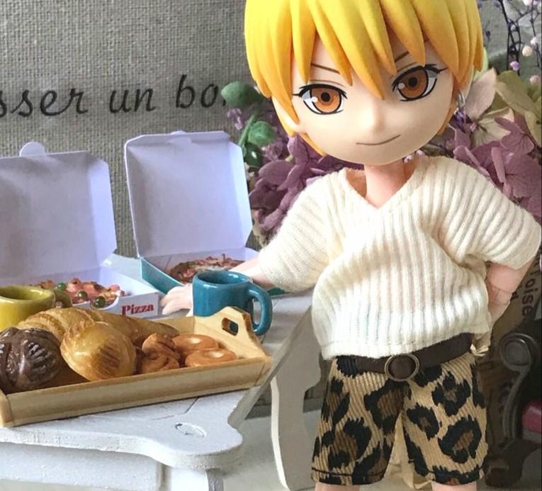 イケメンハイキュー,よもぎのミニチュアフード,ドール用小物ブログ