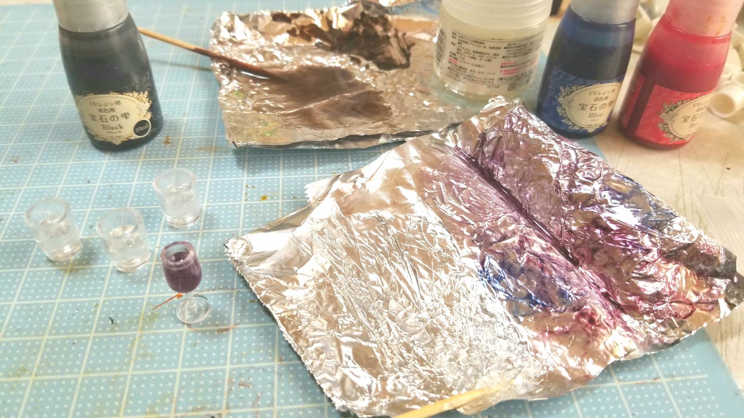 ミニチュアフード,ドリンク飲み物,レジン着色剤,製作作り,おすすめ