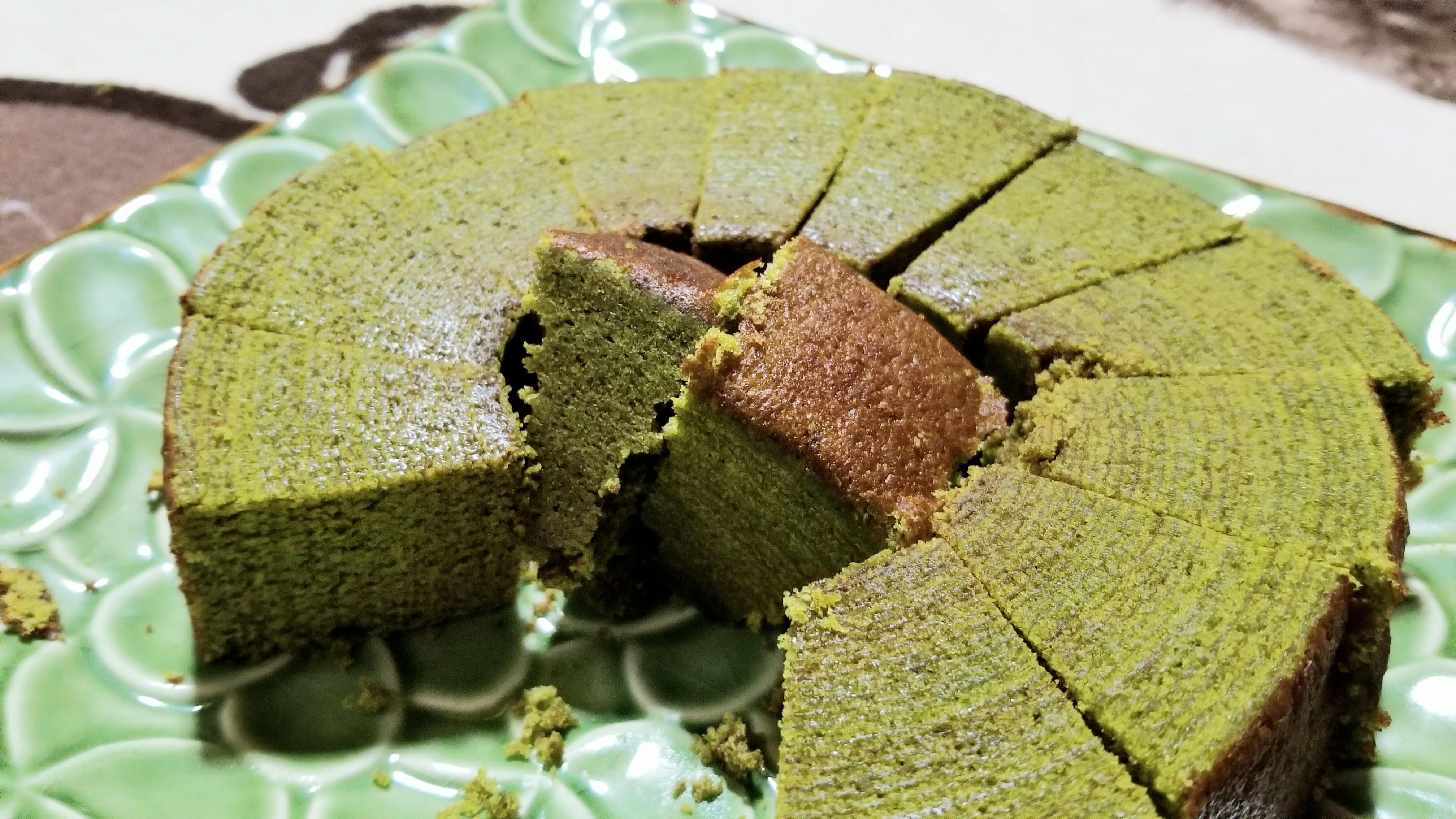 濃厚で美味しいお抹茶バウムクーヘン京都府有名店菓子しっとり人気