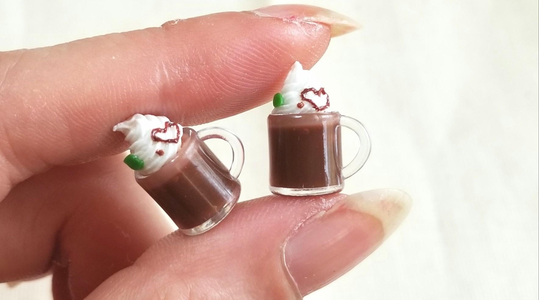 チョコレートドリンク,可愛いフロート,あまむす,オビツろいど11