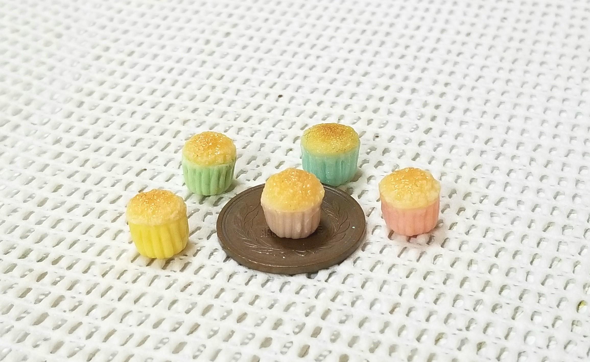 ミニチュアフード,ミンネ,オーダー品,樹脂粘土,カップケーキ,可愛い