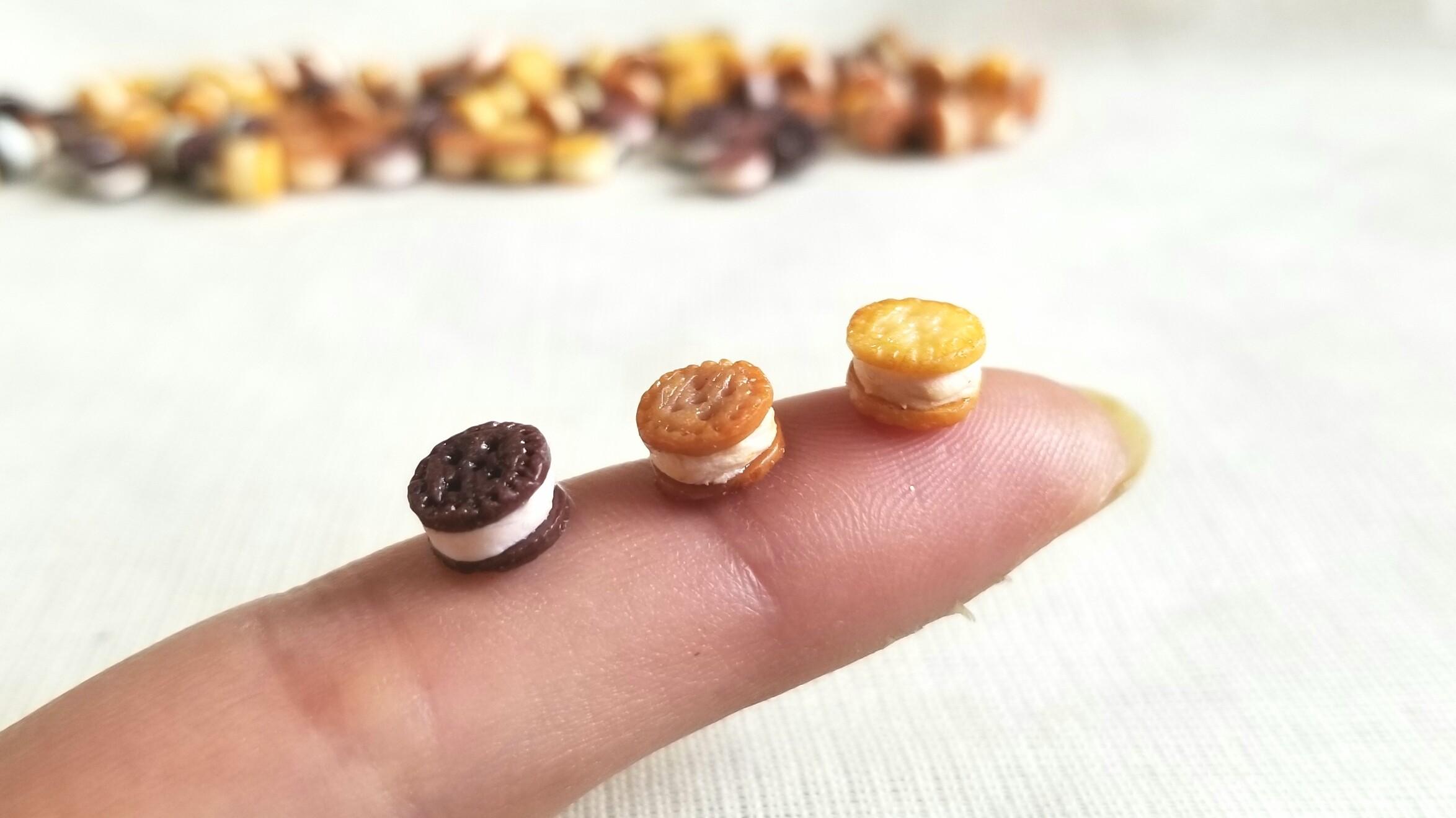 かわいいおすすめ人気ドール用小物おもちゃお菓子クッキーミニチュア