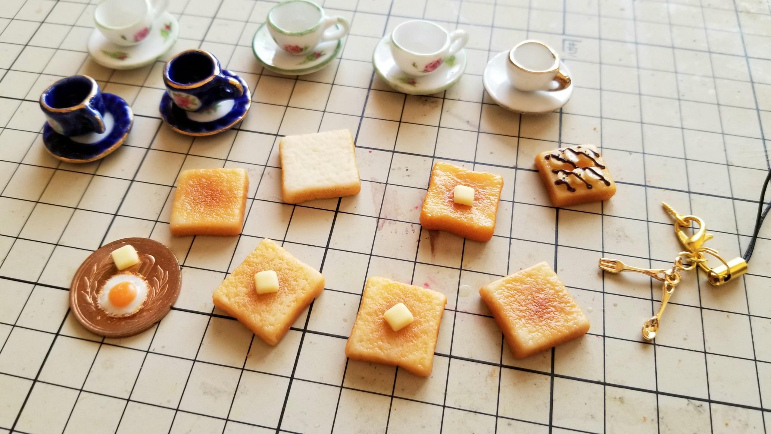 ミニチュアフード作家樹脂粘土かわいいドール用品小物オビツ11サイズ