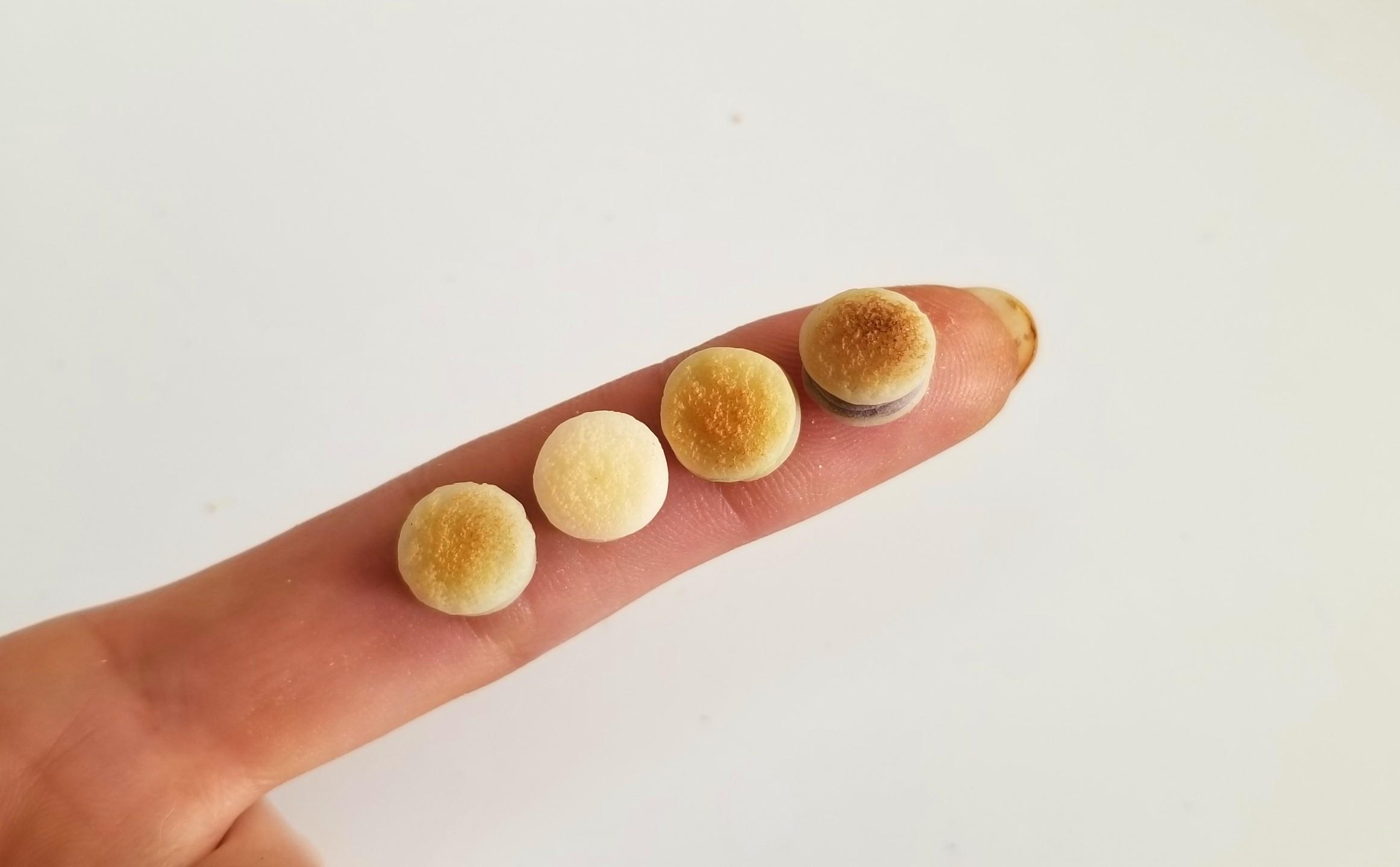 ミニチュア,和菓子,クリームどら焼き,樹脂粘土,ねんどろいど,オビツ