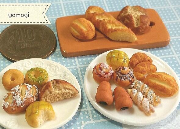 ミニチュアフード,小物,パン,食べ物,ハンドメイド,おすすめ,アート