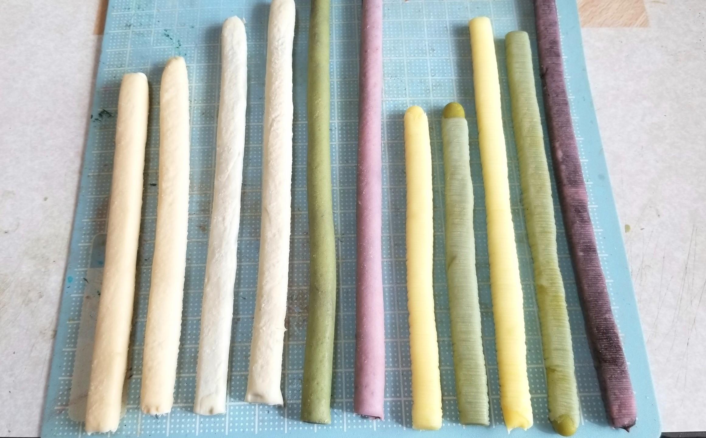 ミニチュア,和菓子,作り方,餡,ロール,あんこ,カステラ,羊羮,樹脂粘土