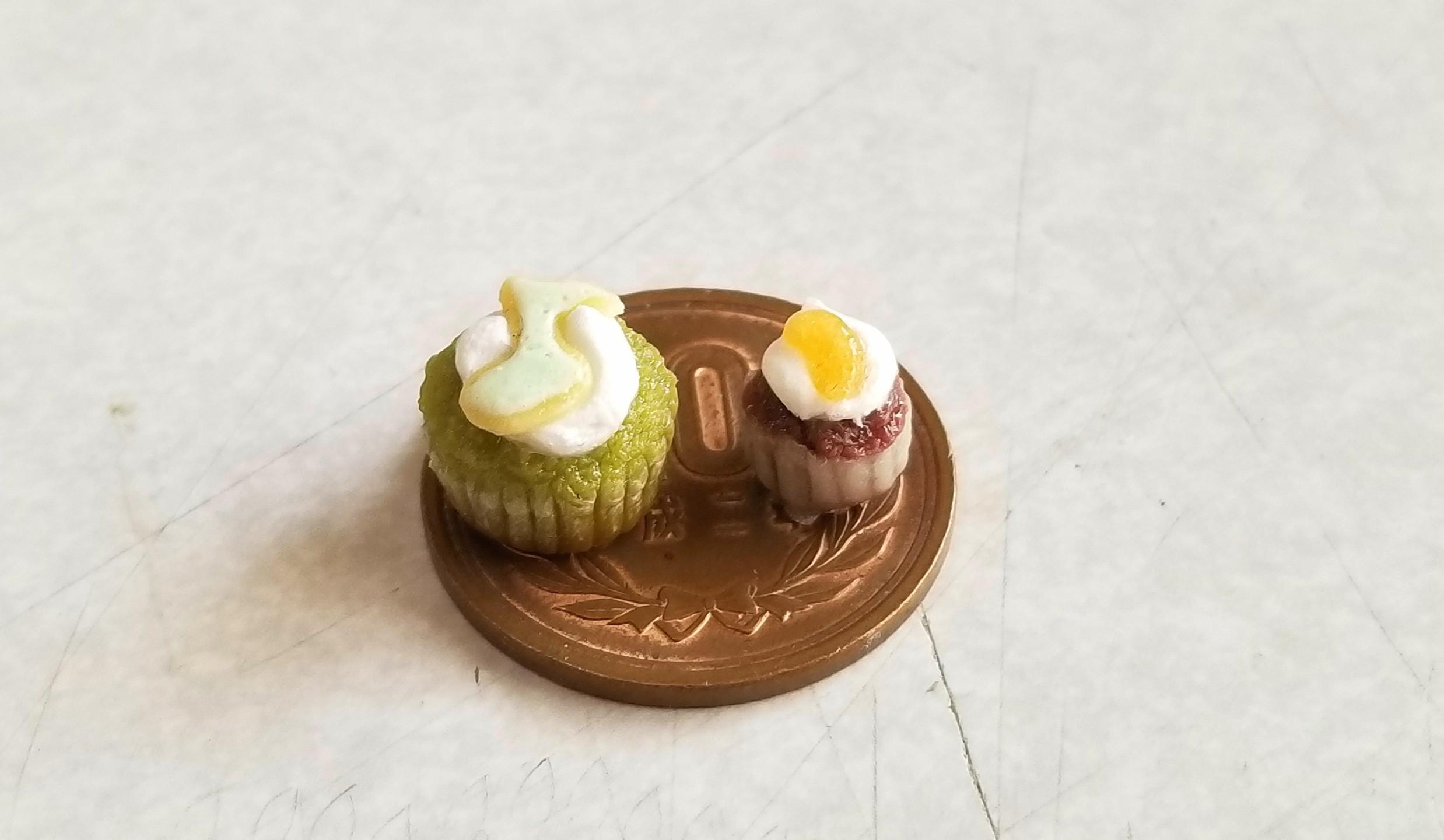 カップケーキ,ミニチュアフード,ドールハウス,食品サンプル,ドール