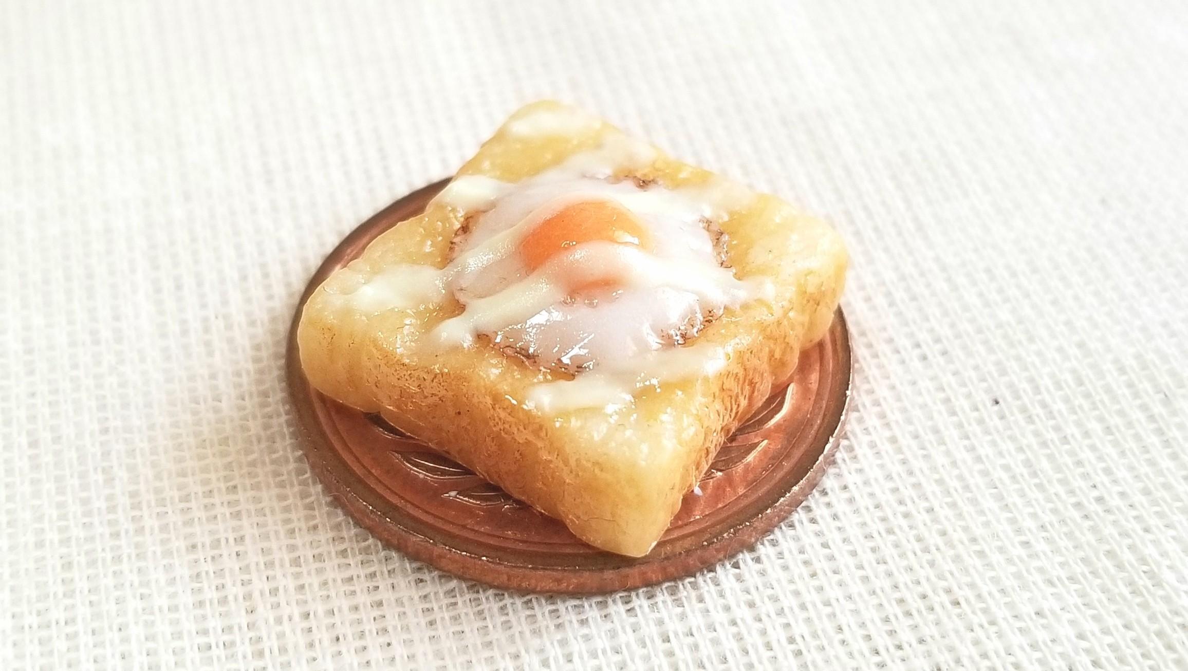 美味しい食パン,ラピュタトースト,ミニチュアフード,ミンネで販売中