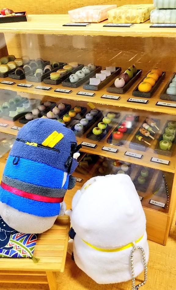 美味しい和菓子屋,有名店,甘味処よもぎ屋,ドールハウスとミニチュア