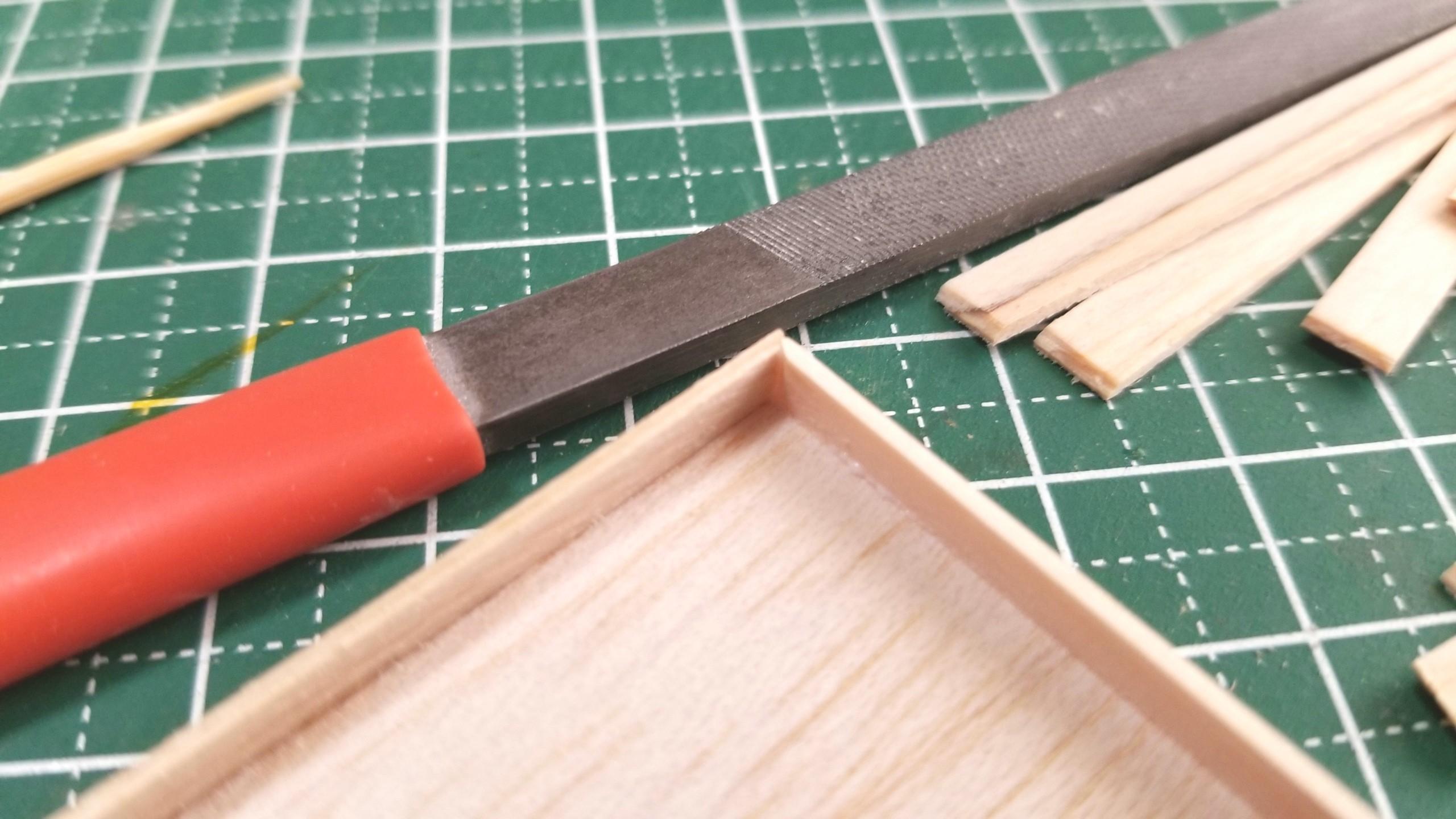 おぼん,作り方,ミニチュア,ひのき,桧,木材,木工作業,留め切り
