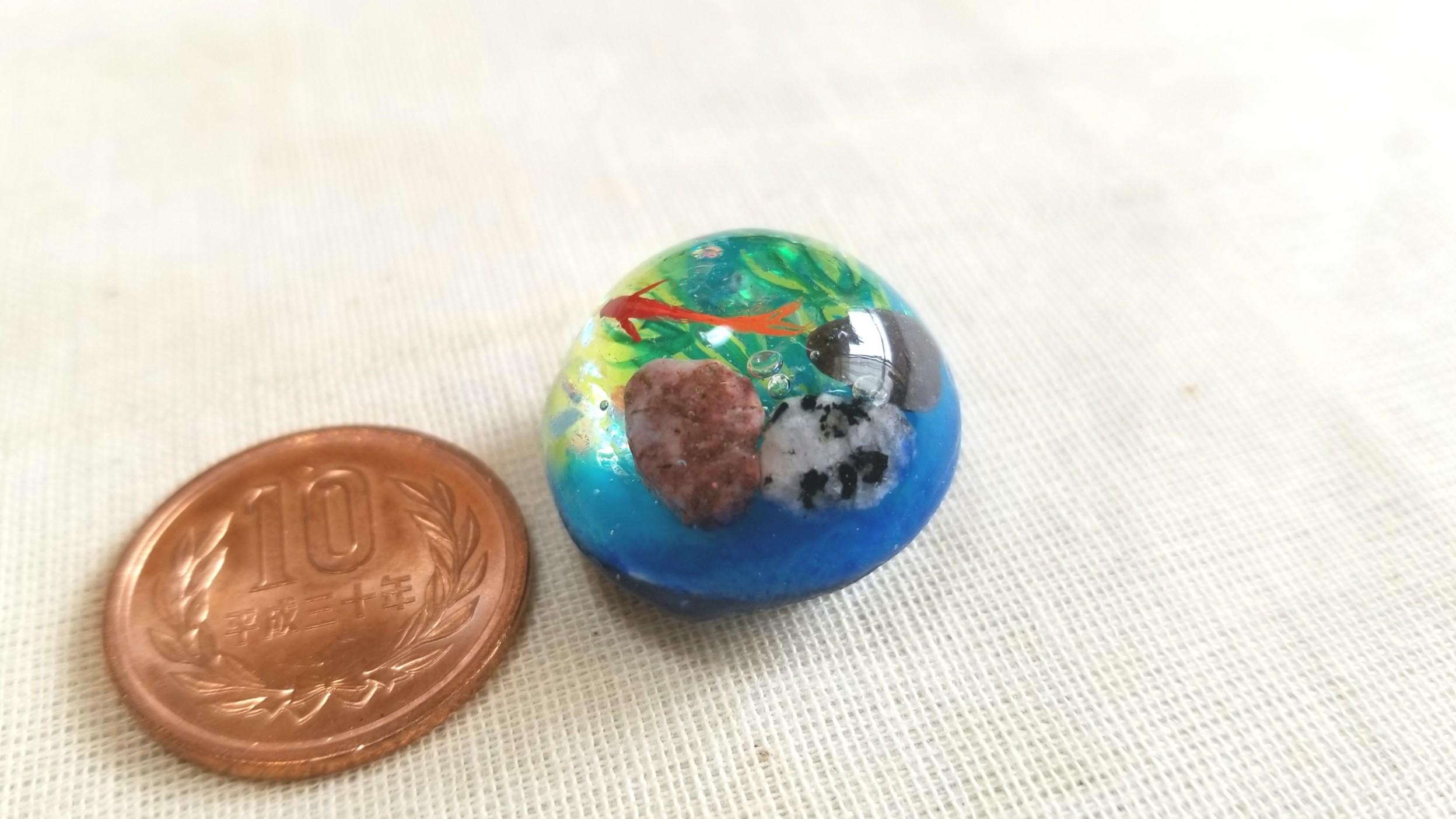 Twitterプレゼント企画当たった,運気アップ好運,レジン小物綺麗な石