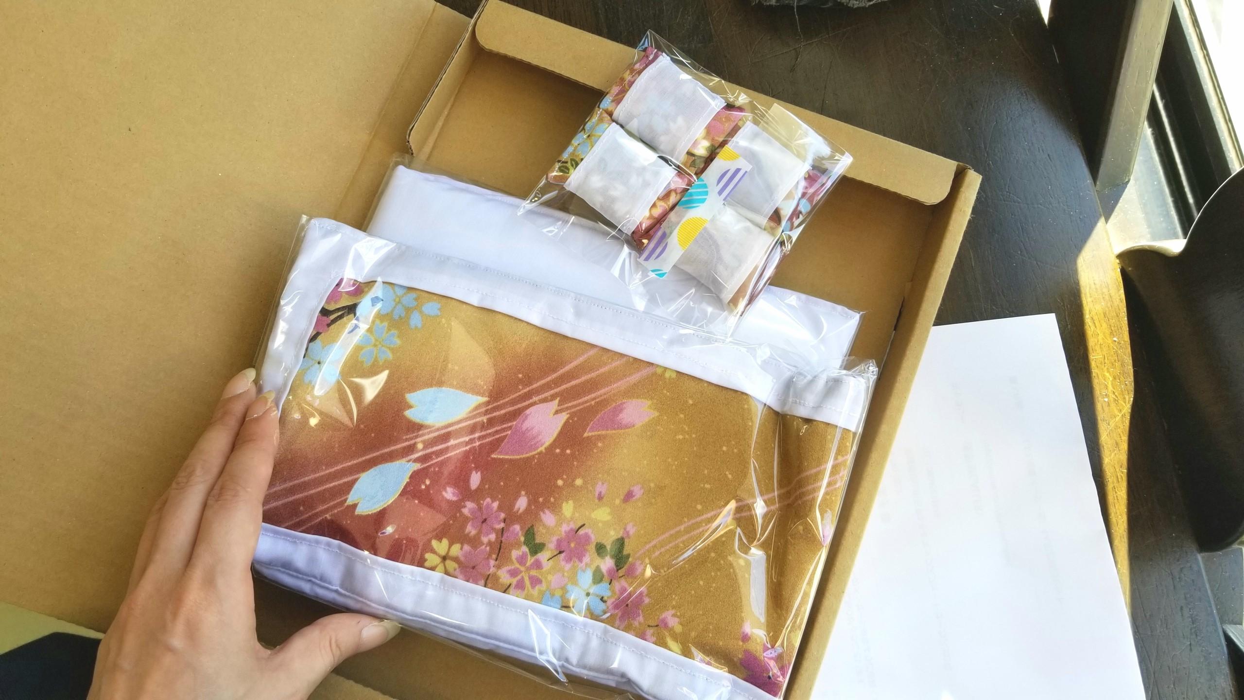 ミンネで購入,田吾さん,お布団、枕セット,可愛い,オビツろいど11