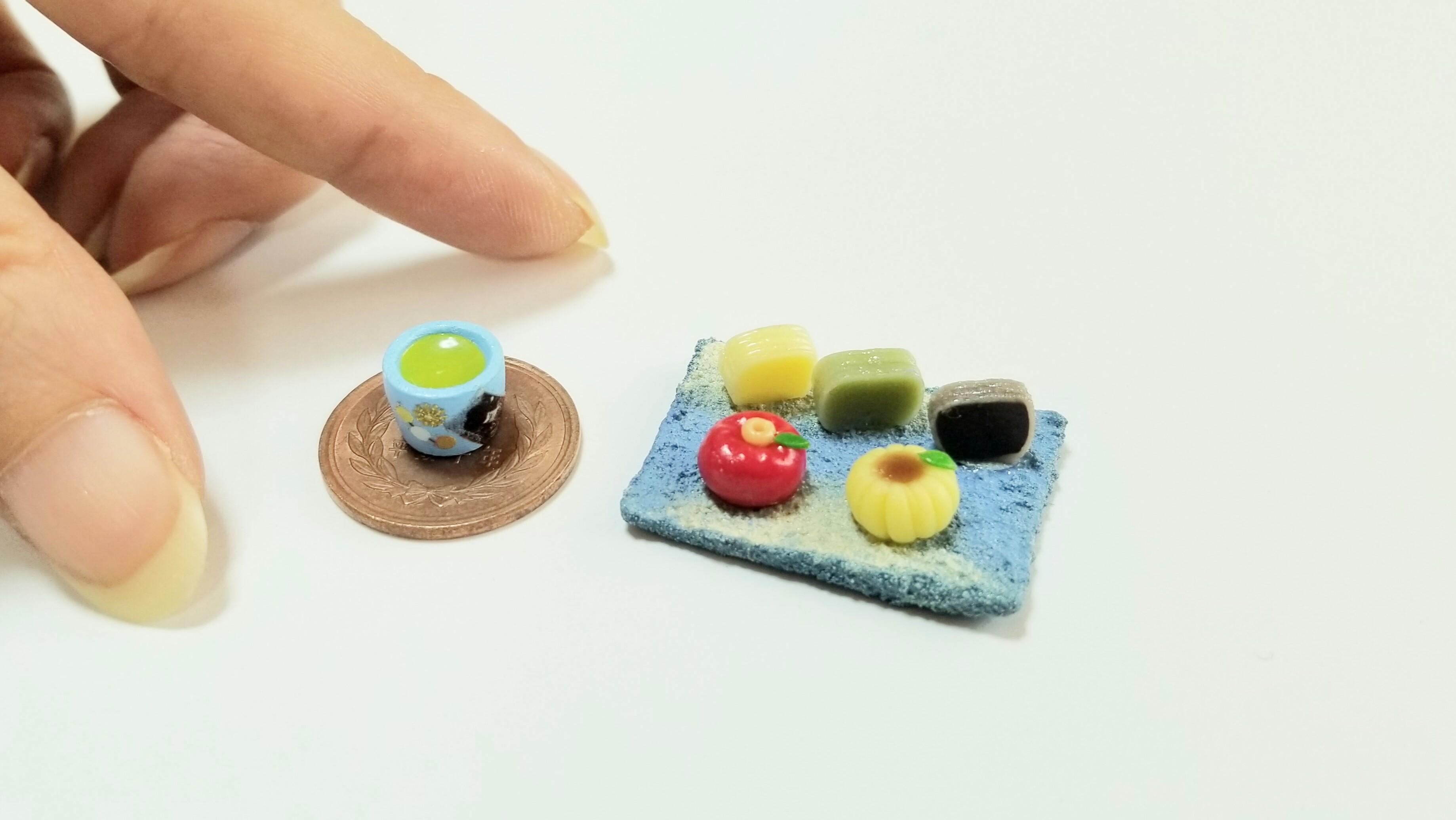 小さなかわいいハンドメイド小物樹脂粘土作家インスタグラム人気有名