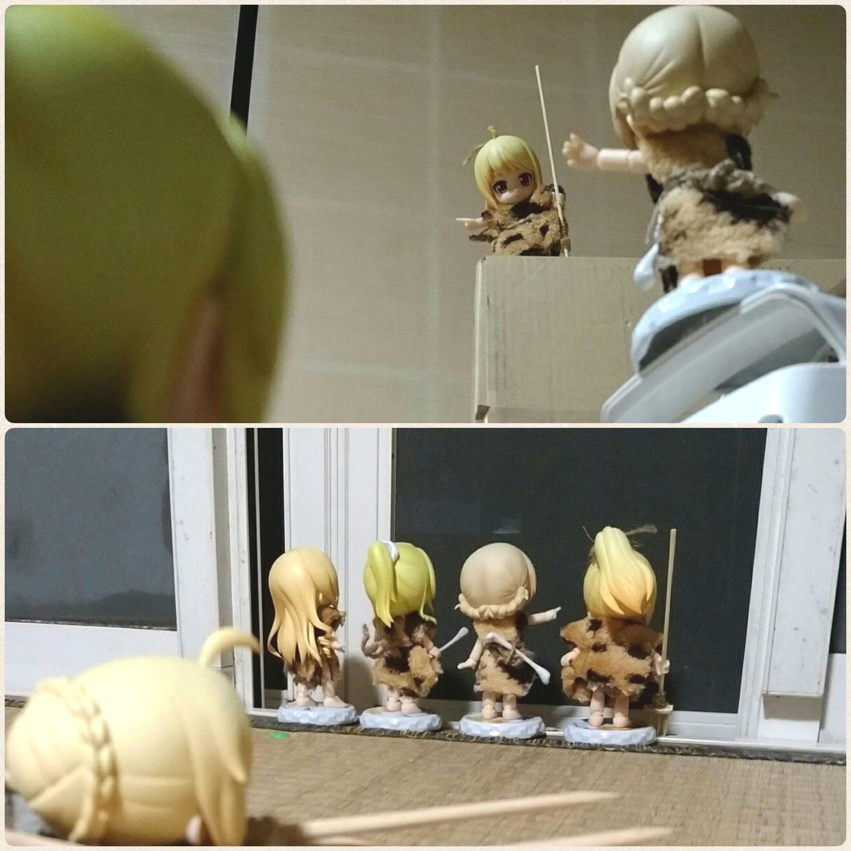 人形,可愛いねんどろいど,キューポッシュ,ドール撮影会,ぬいどり