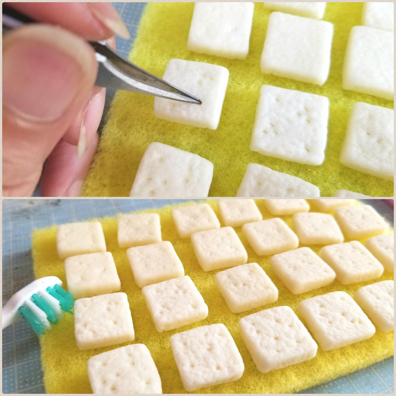 こんがり美味しいトースト,ミニチュアフードの作り方,食品サンプル