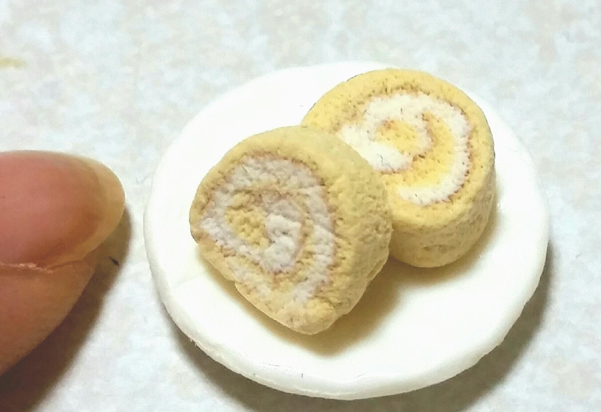 おいしいロールケーキ,人気おすすめ美味しそうお洒落,粘土,ブログ