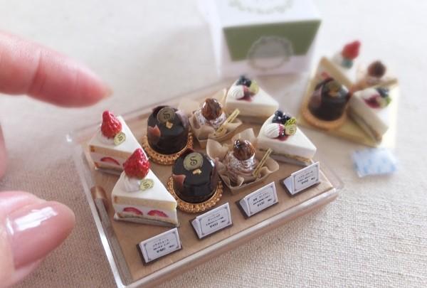 ミニチュアフード,有名おすすめ作家,shibazukeparipari,ケーキ