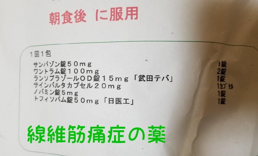 線維筋痛症患者のお薬,つらい首背中の痛みと嘔吐,激しい吐き気