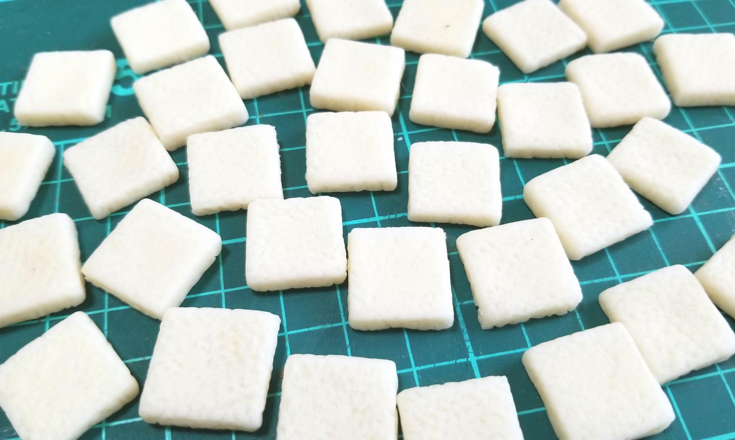 ラピュタパン,トースト,作り方,樹脂粘土,食パン,ドールハウス,ジブリ