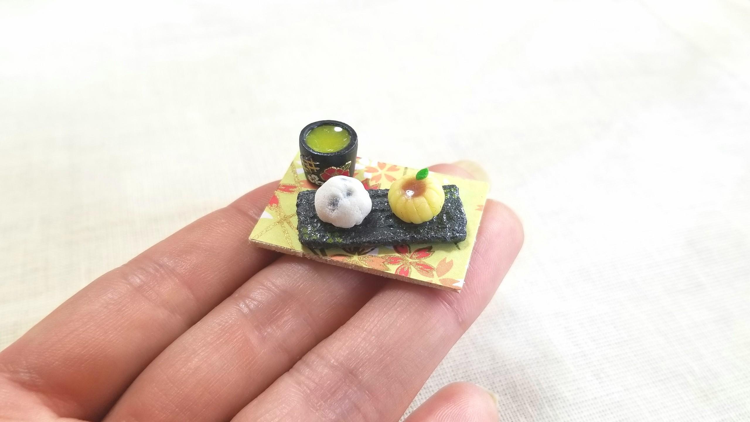 ミニチュアフード和菓子,かわいいドール用小物,おすすめおもちゃ