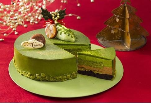 彼氏とクリスマスイヴ,抹茶のケーキ選び迷う,大好き,よもぎブログ