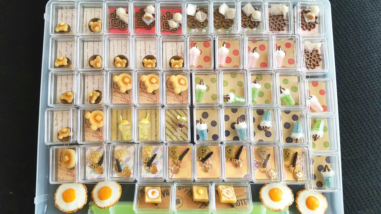 ミニチュアフード,ミンネで販売中,樹脂粘土,ドールハウス,ブローチ