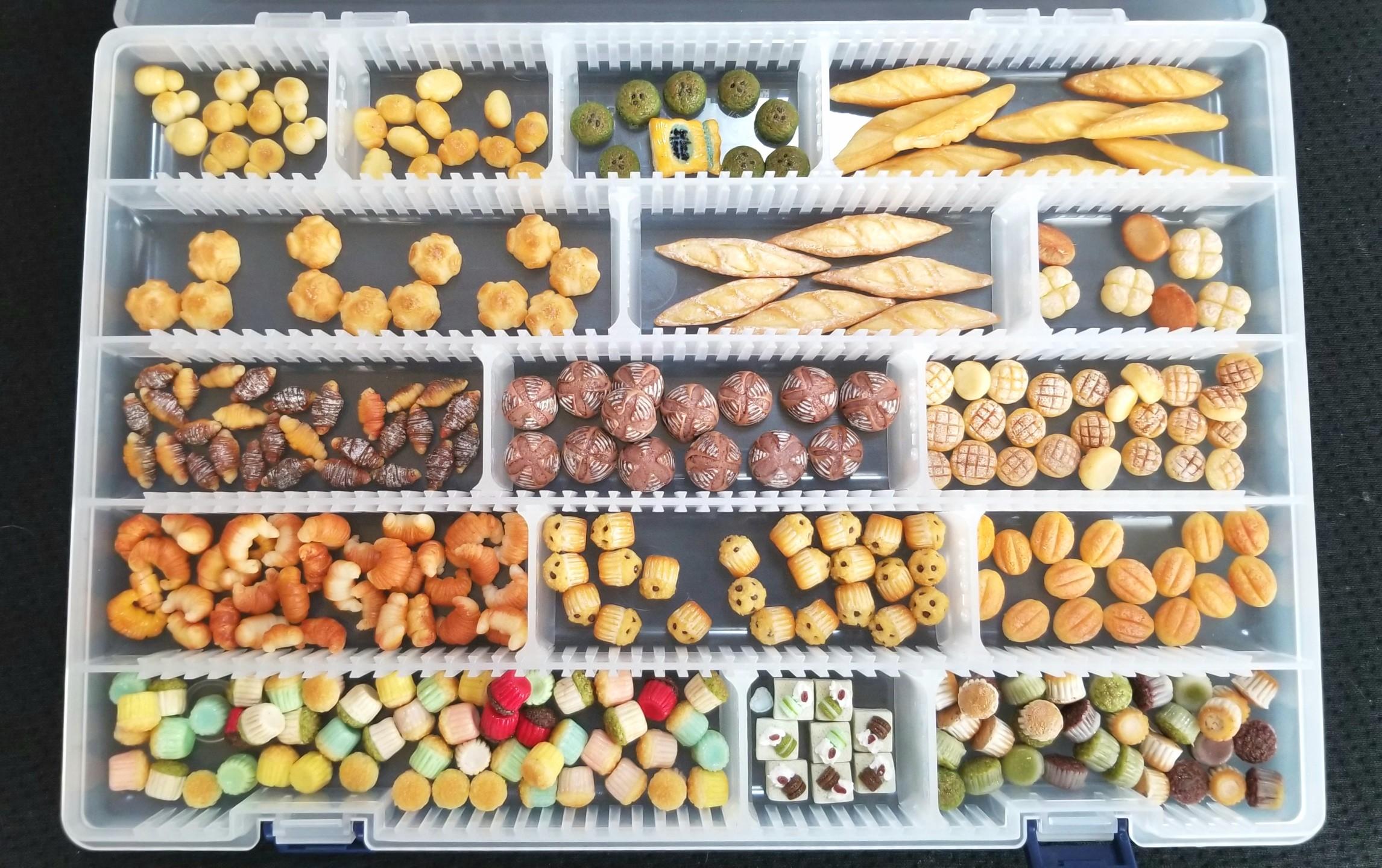 ミニチュアフード,パン,カップケーキ,シルバニア,ねんどろ,オビツ