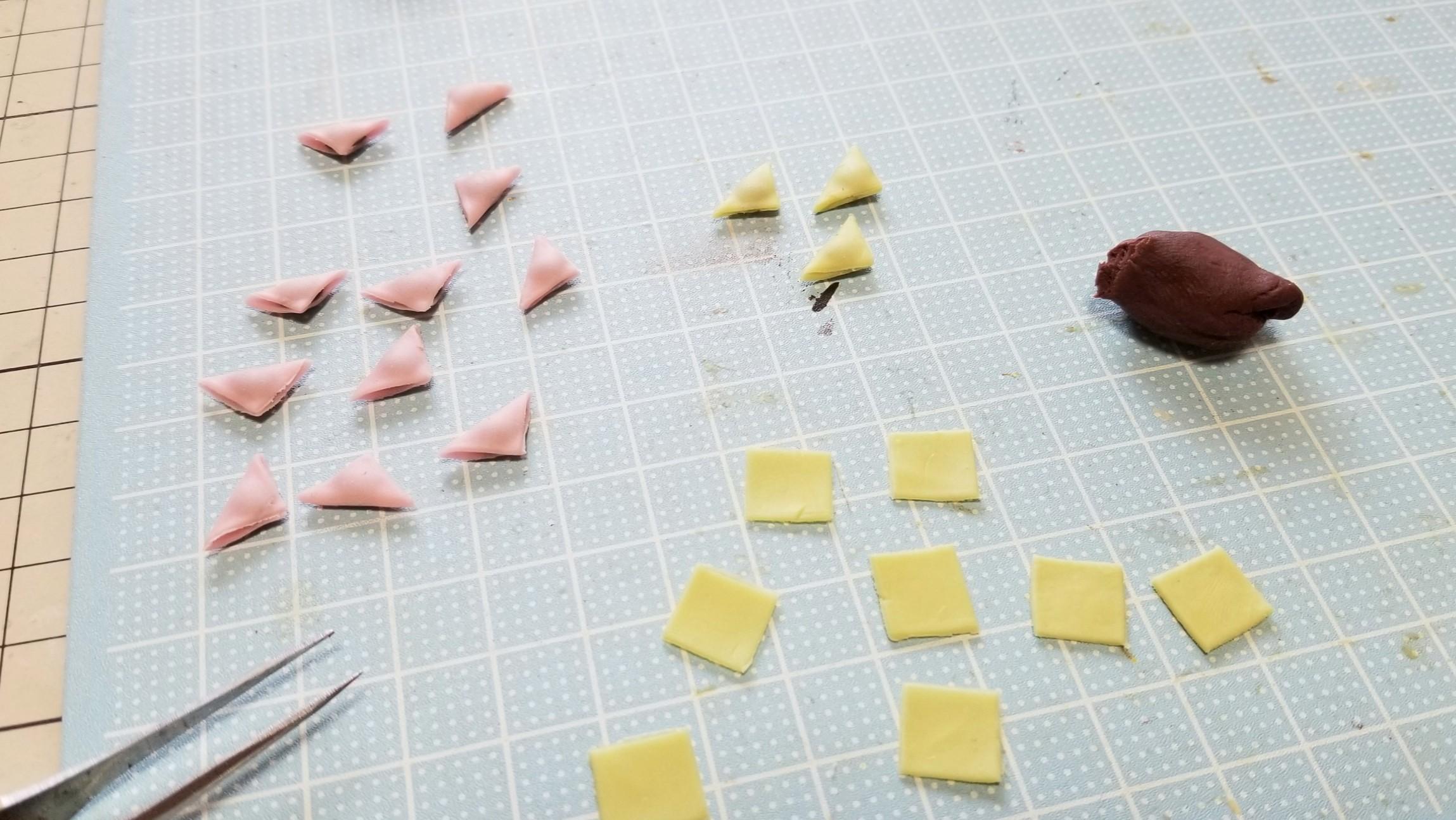 ミニチュアフードの作り方ブログ樹脂粘土ハンドメイド和菓子人気