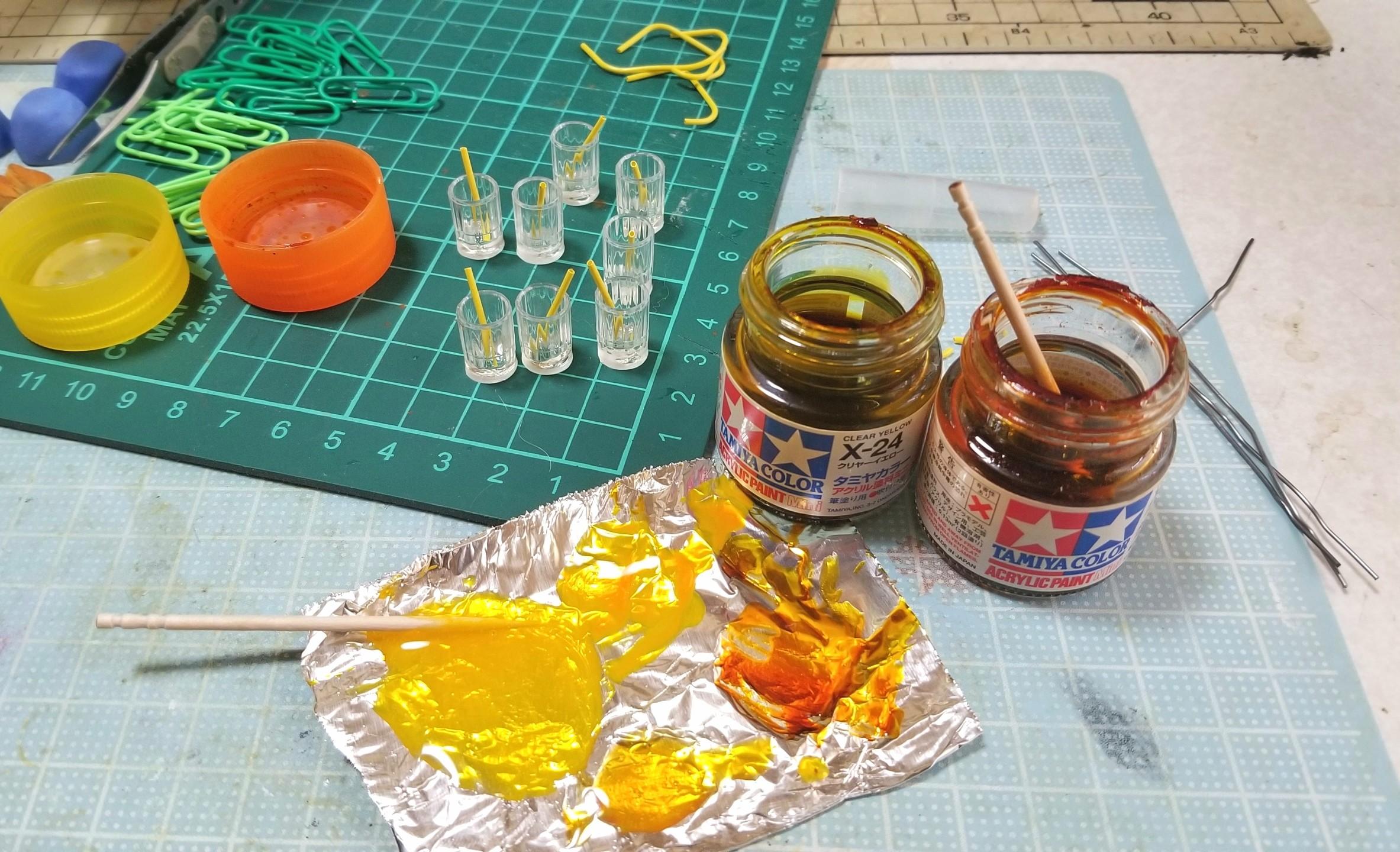 紅茶,レモンティー,ドリンク,作り方,ミニチュアフード,UVレジン