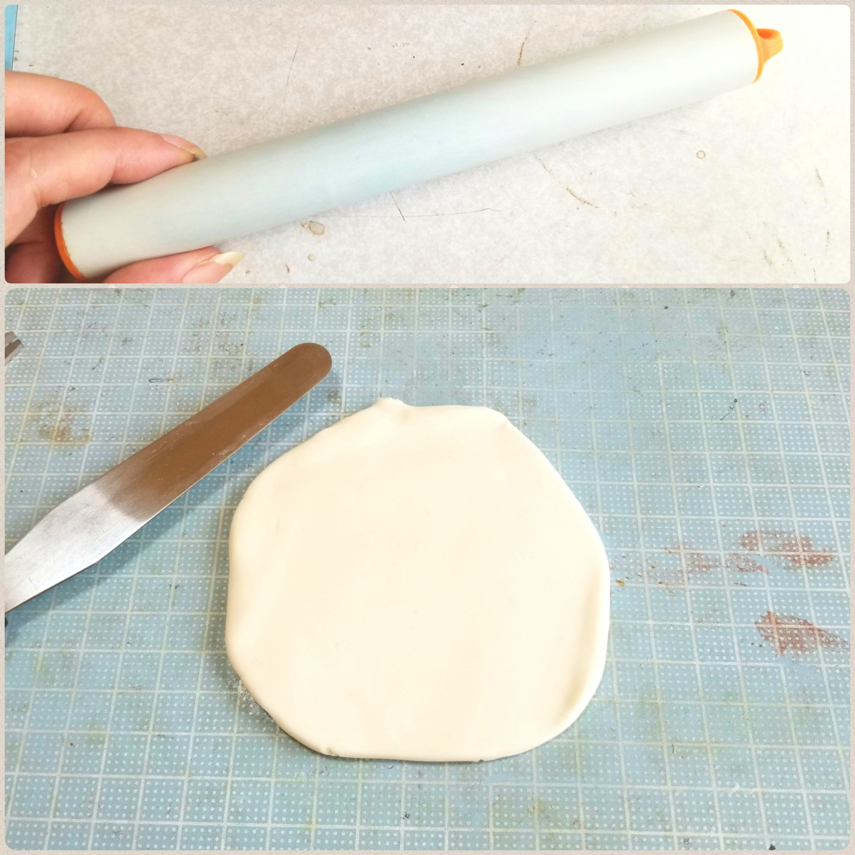 粘土,ミニチュアの作り方,ミニチュアフード,食パン,トーストの作り方