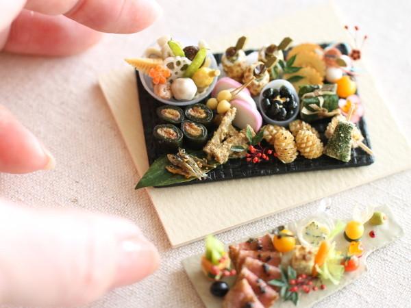 ミニチュアフード,有名おすすめ,ディナー,ご飯,クリスマスオードブル