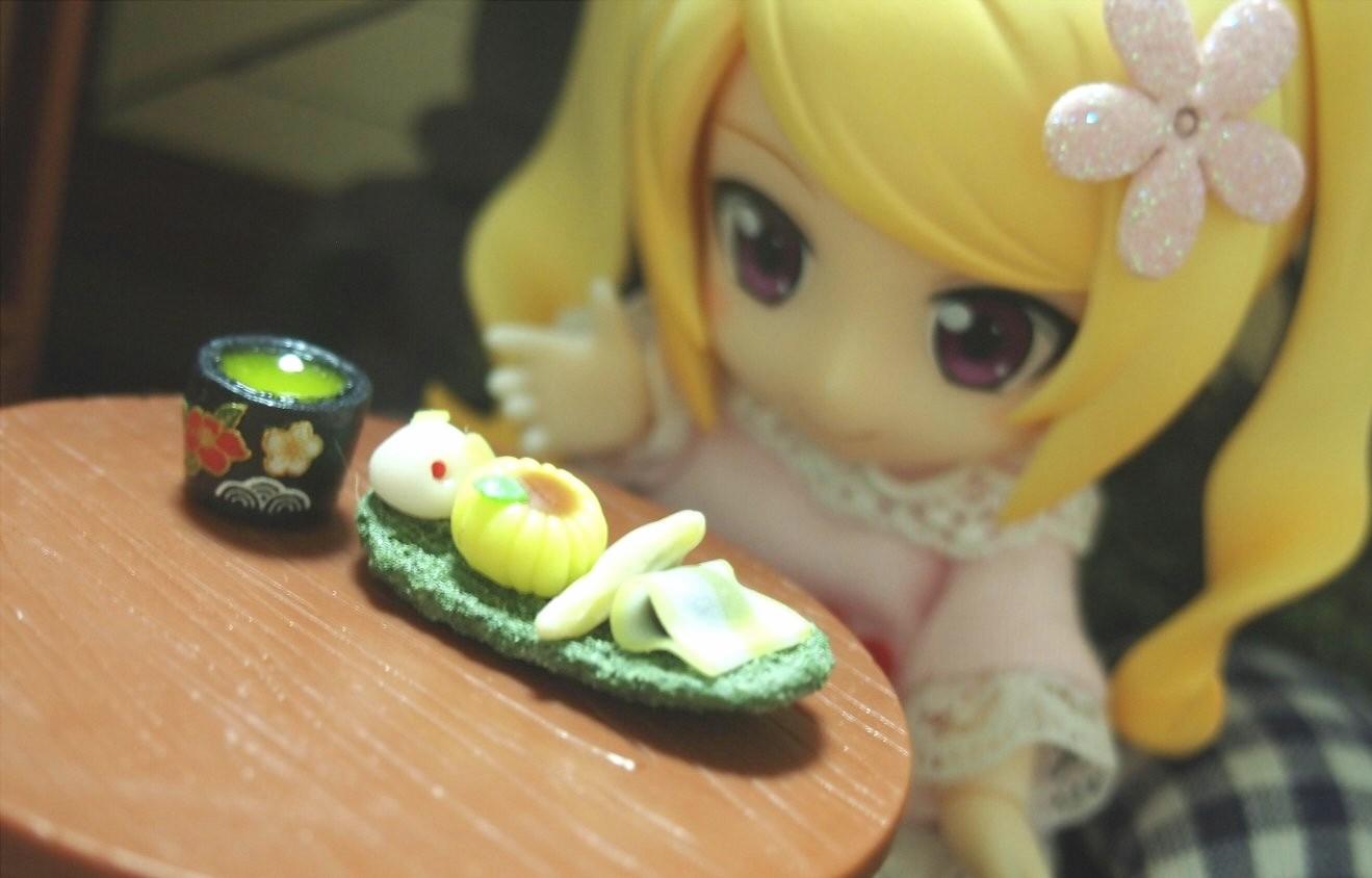 かわいいキューポッシュ,よもぎのミニチュア,おすすめドール用小物