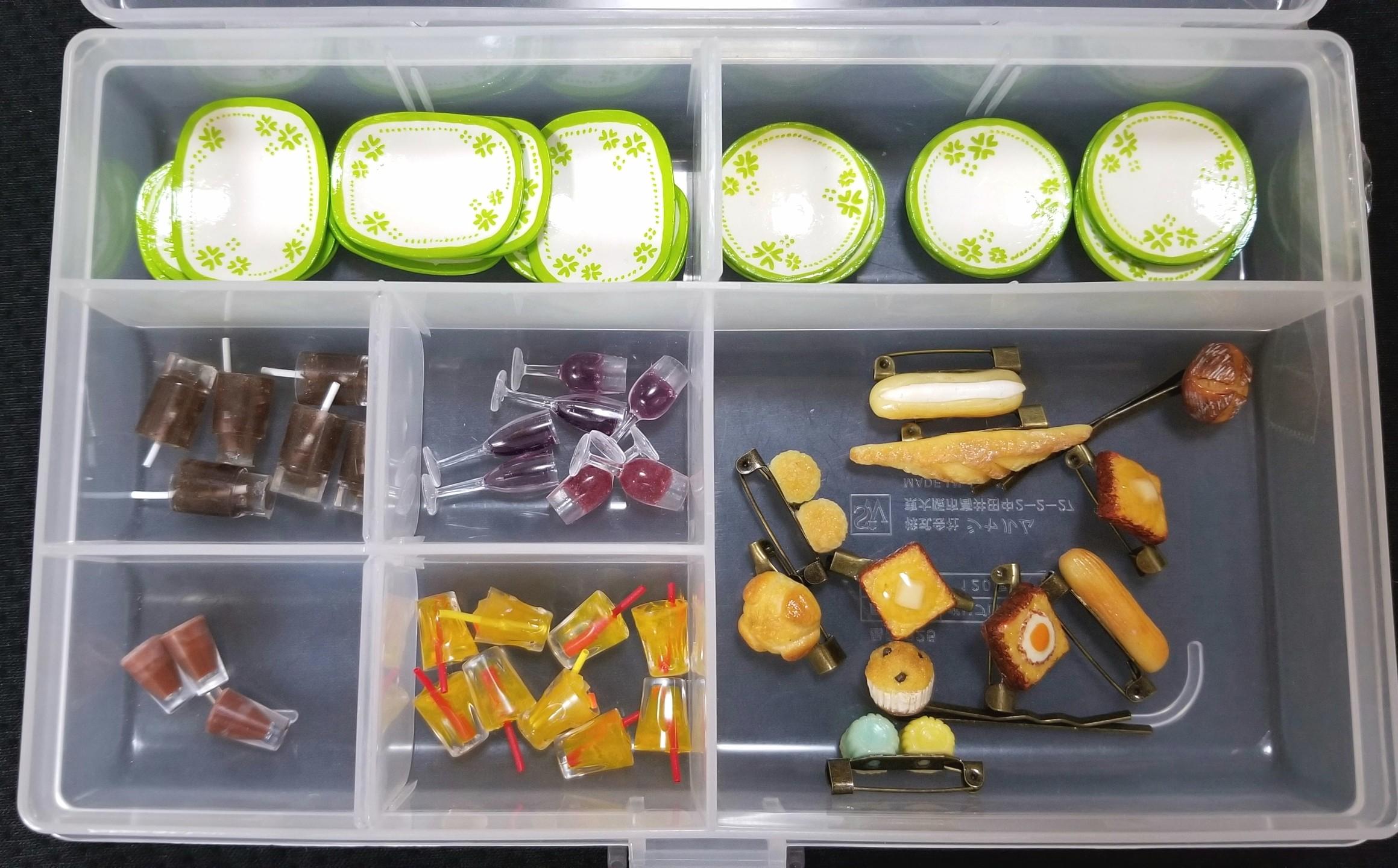 ミニチュアフード,お皿,ドリンク,シルバニア,オビツ,ねんどろいど