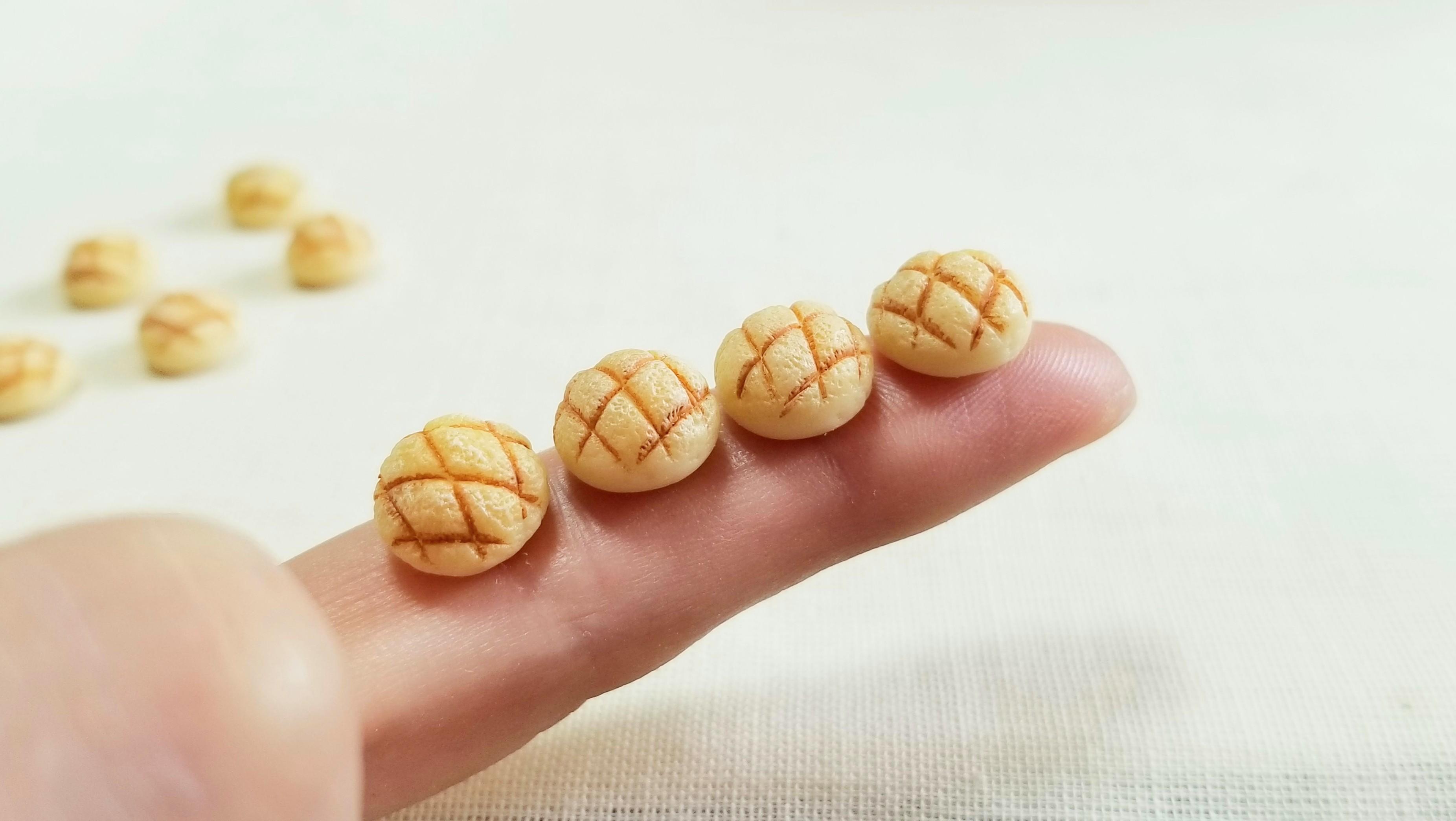 ミニチュアパン屋樹脂粘土手作りハンドメイド小物ブログドール用品