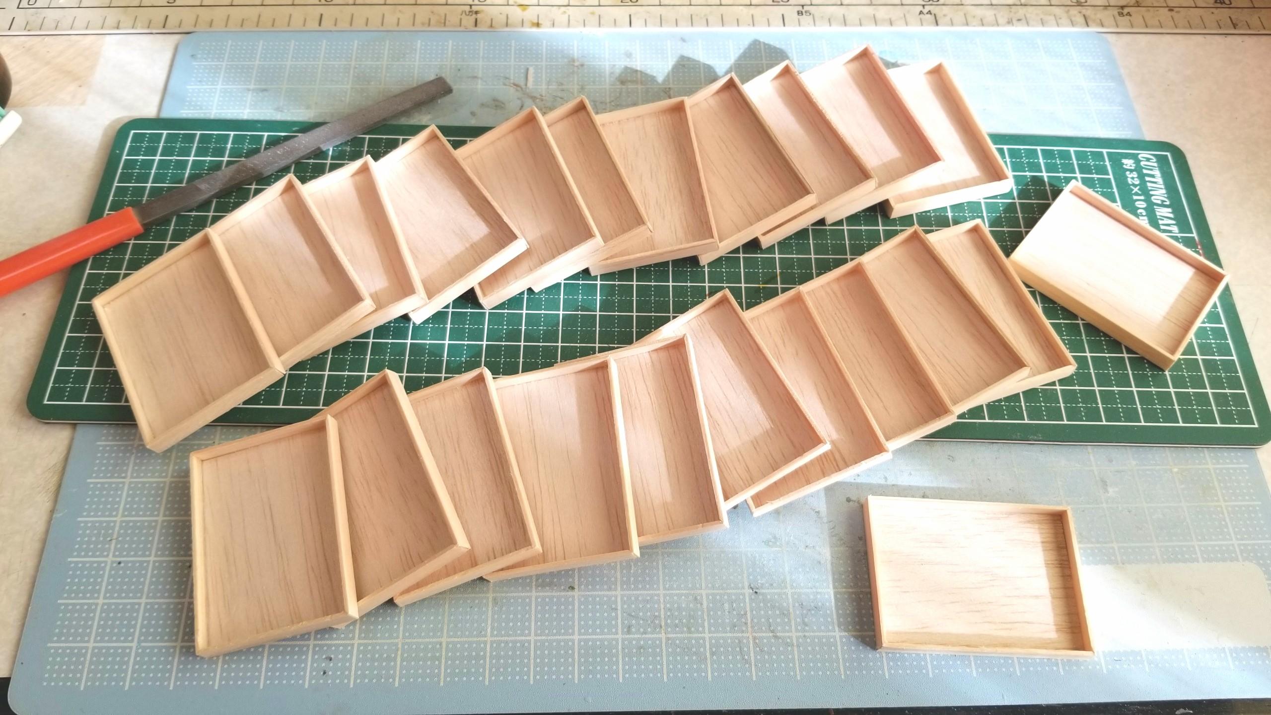 おぼん,作り方,ミニチュア,ひのき,木工作業,トレー,日曜大工,木材