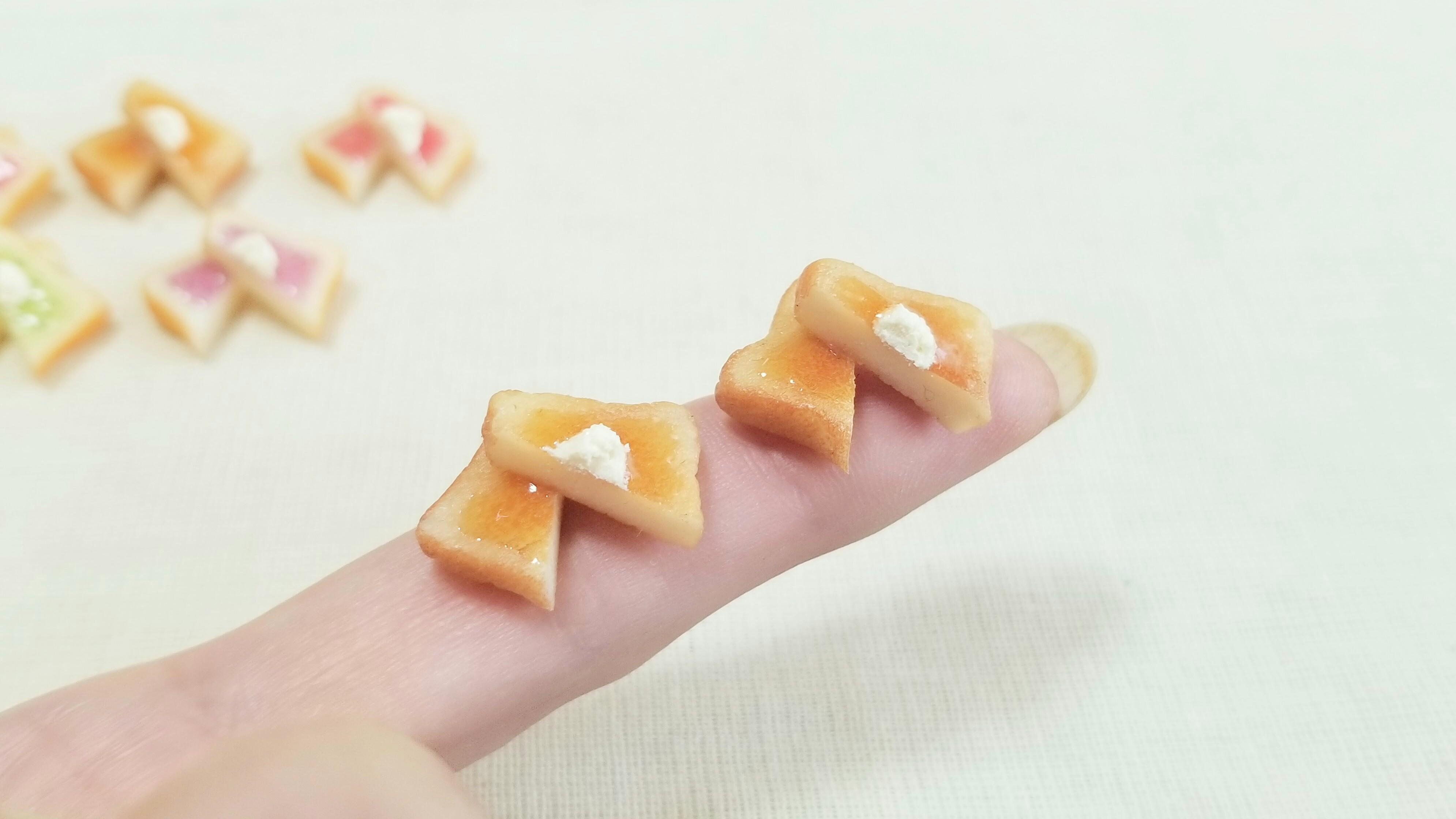 ミニチュアフードハンドメイド小物かわいいドールサイズパン人気商品