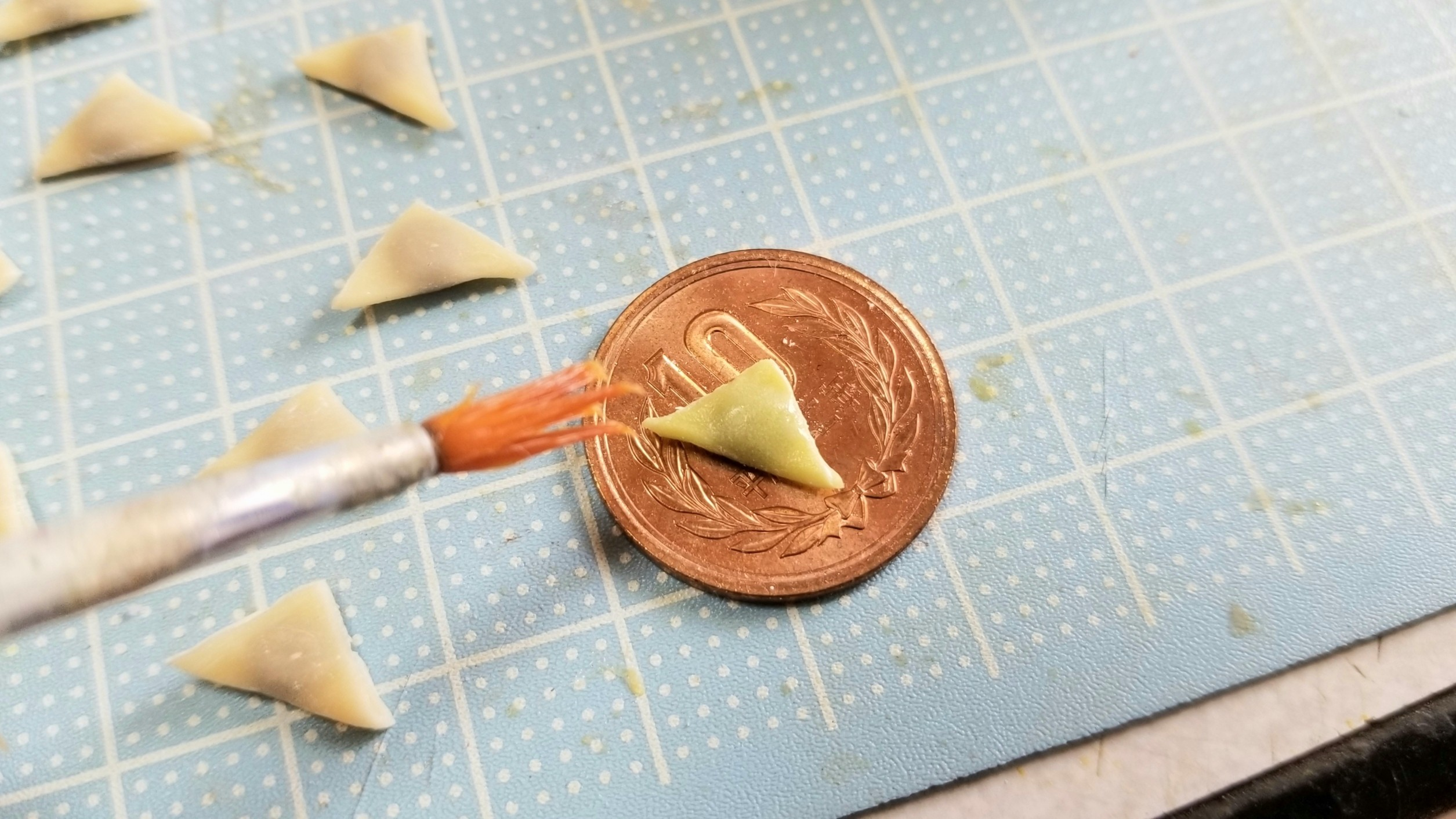 ミニチュアフードの作り方樹脂粘土かわいい人気おすすめブログミンネ