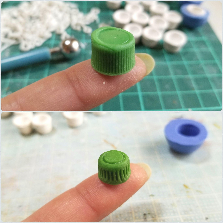ミニチュアフード,マグカップの原型,作り方,樹脂粘土,ドールハウス