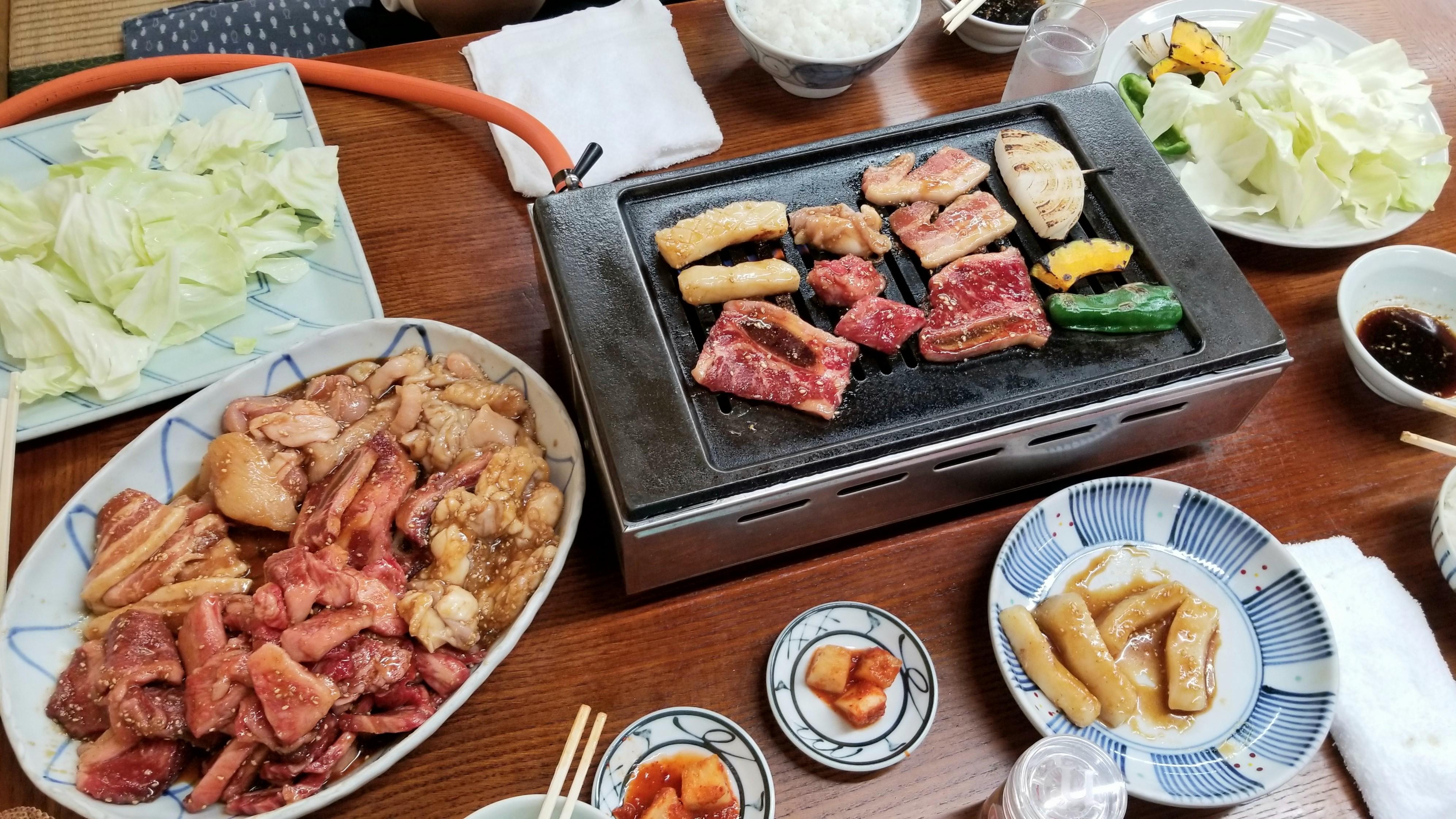 おいしい焼肉おすすめ富久重ふくしげ疲労回復甘い肉松山市絶品