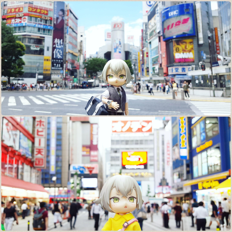 楽しいドール旅行,東京観光,記念撮影,たくさん笑って,いっぱい遊んで