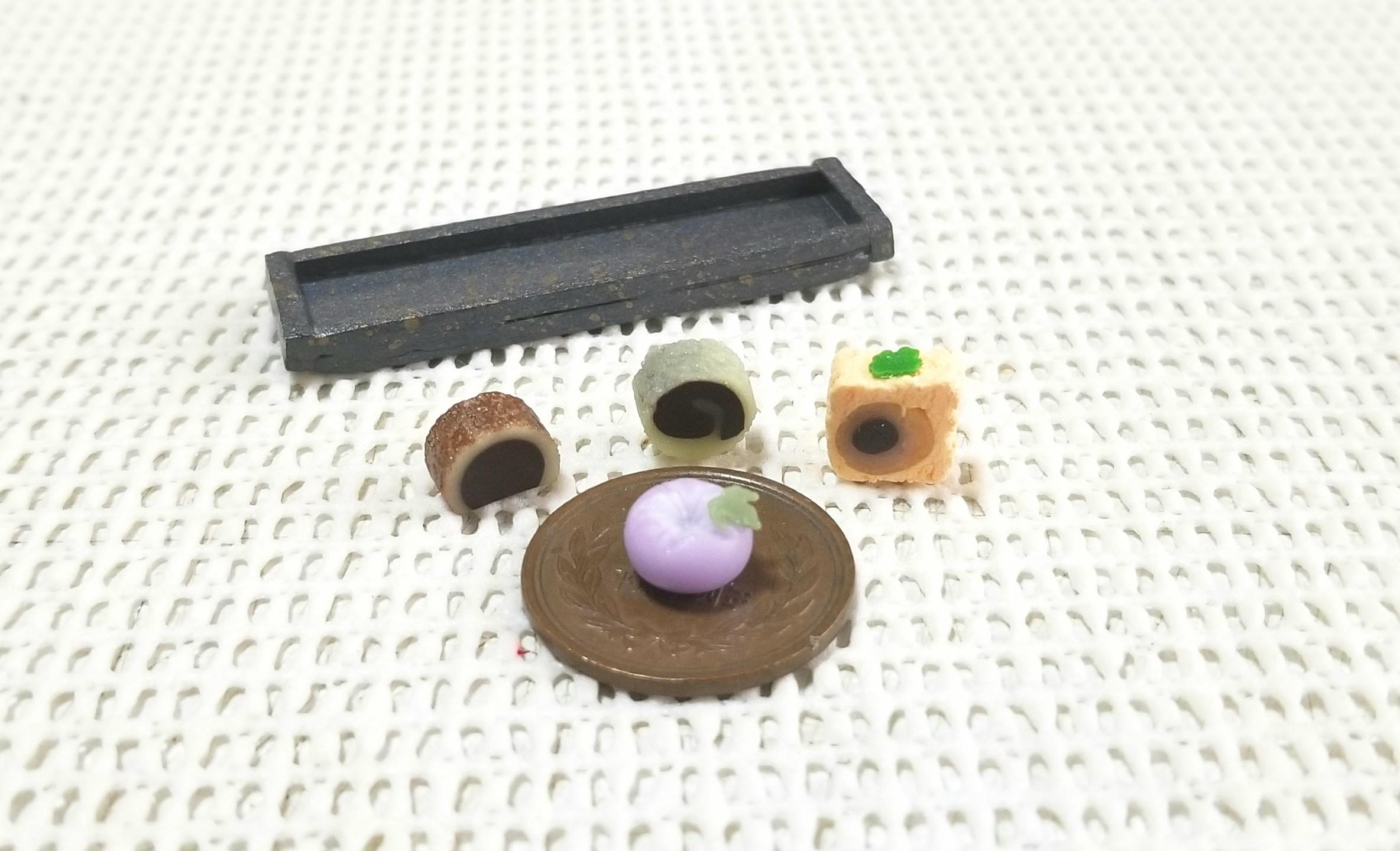 ミニチュアフード,餡菓子,ミンネで販売中,和菓子,食品サンプル